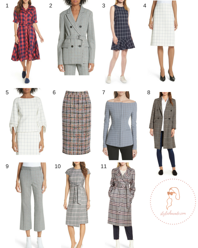 Nordstrom Anniversary Sale Plaid Outfits