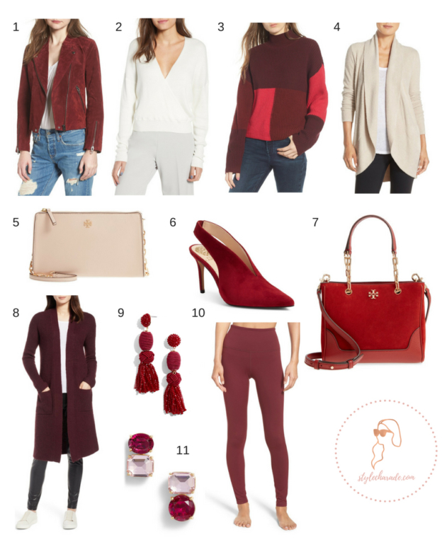 Nordstrom Anniversary Sale Red Outfits