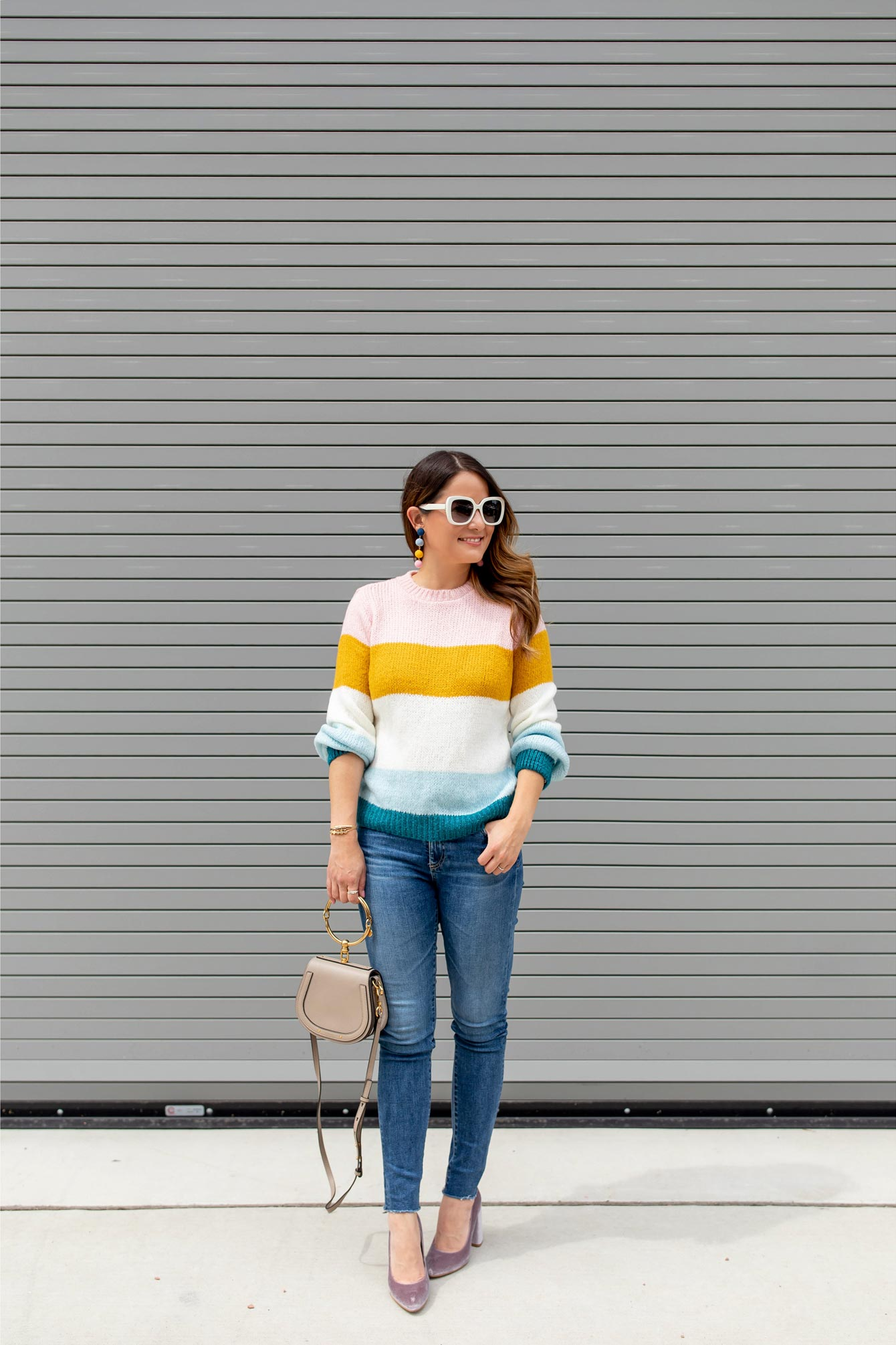Nordstrom Colorblock Sweater Nordstrom