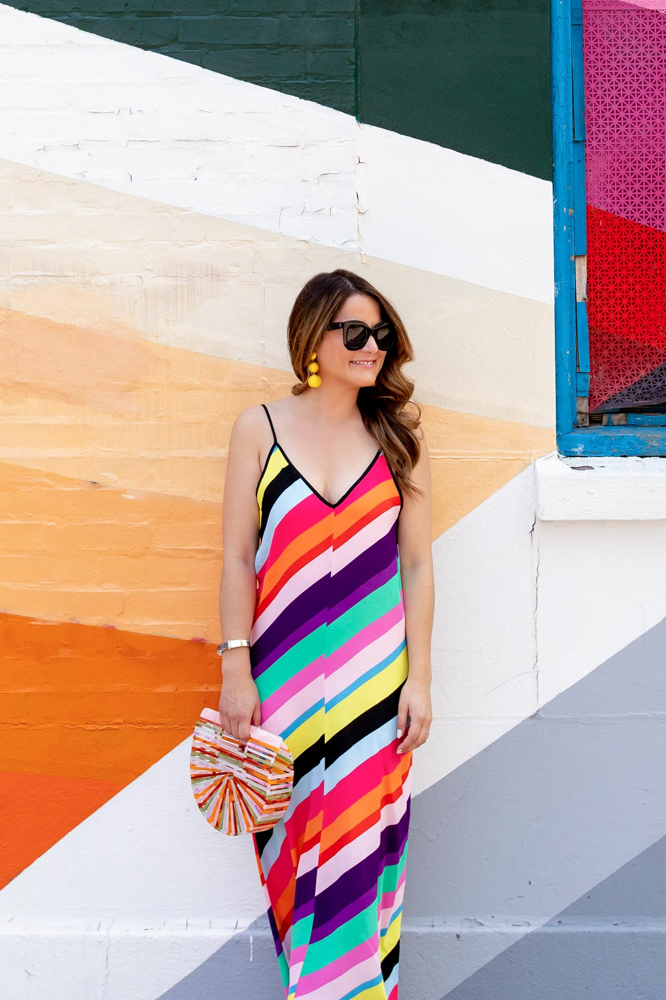 Topshop Multicolor Maxi Dress