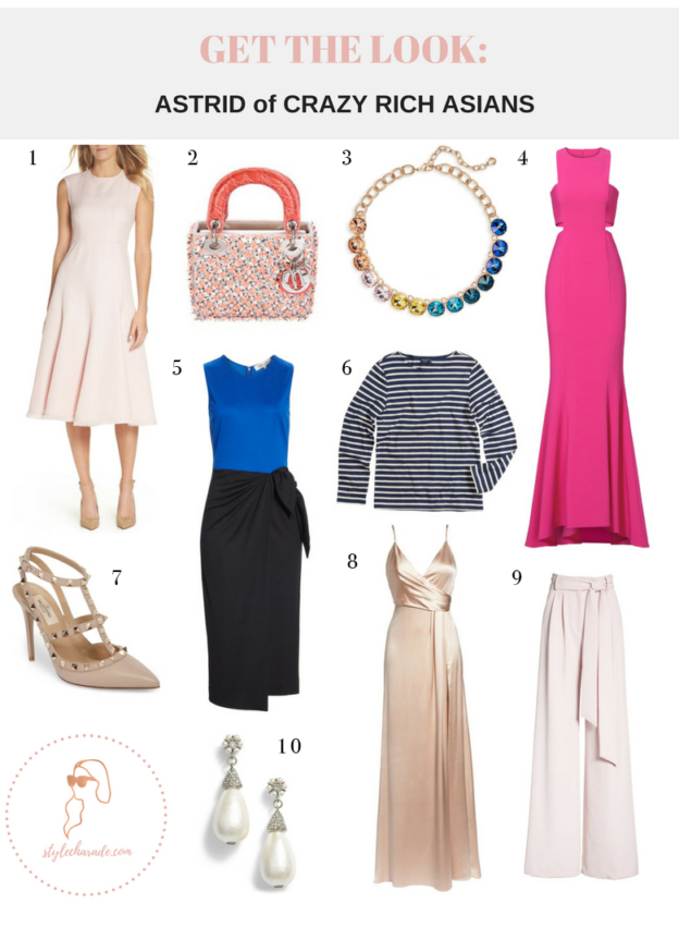 Crazy Rich Asians Astrid Outfit Ideas