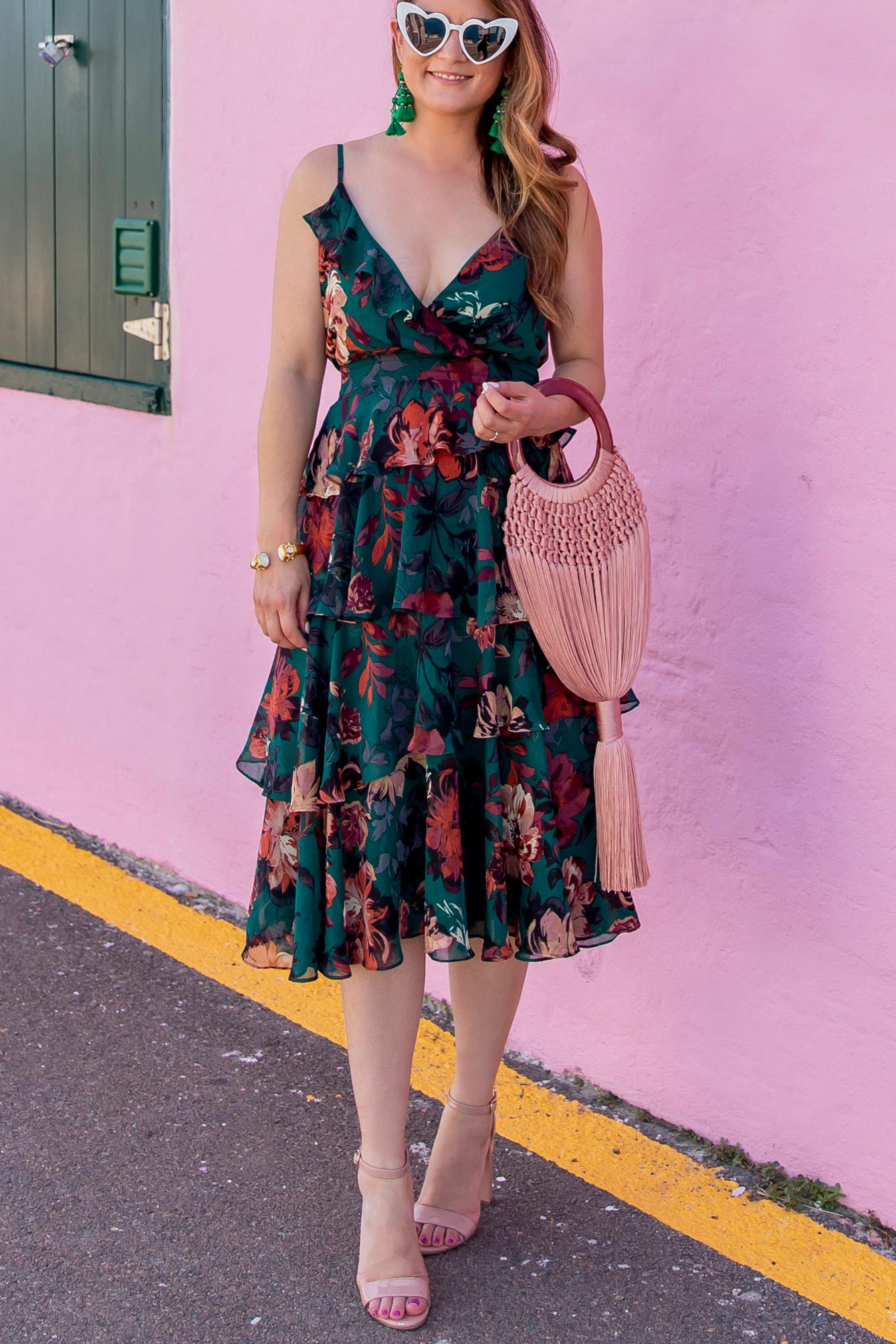 Ali Jay Nordstrom Floral Dress