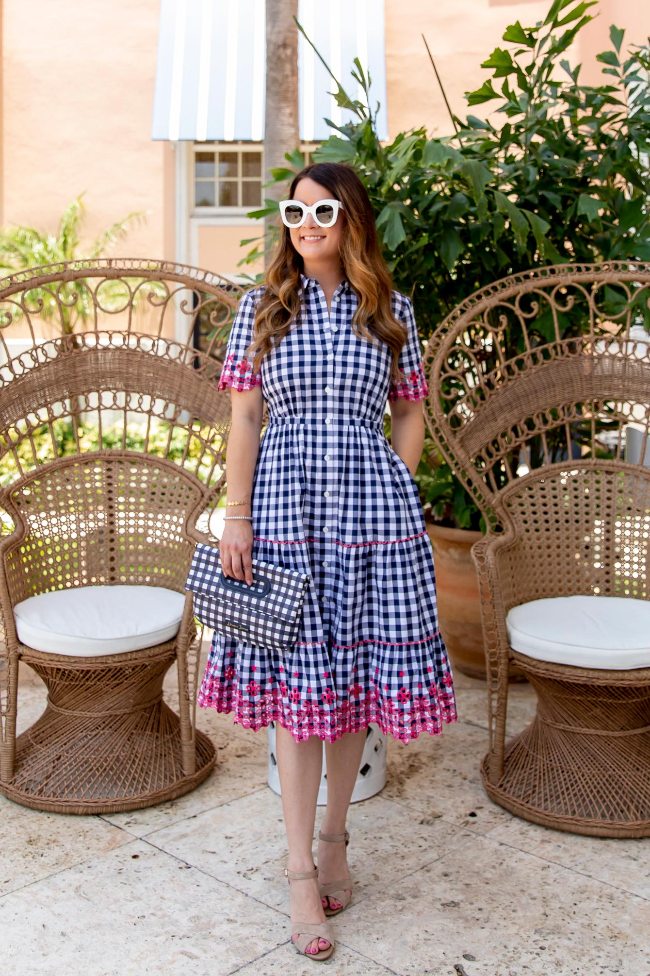 Draper James Dolly Gingham Shirt Dress