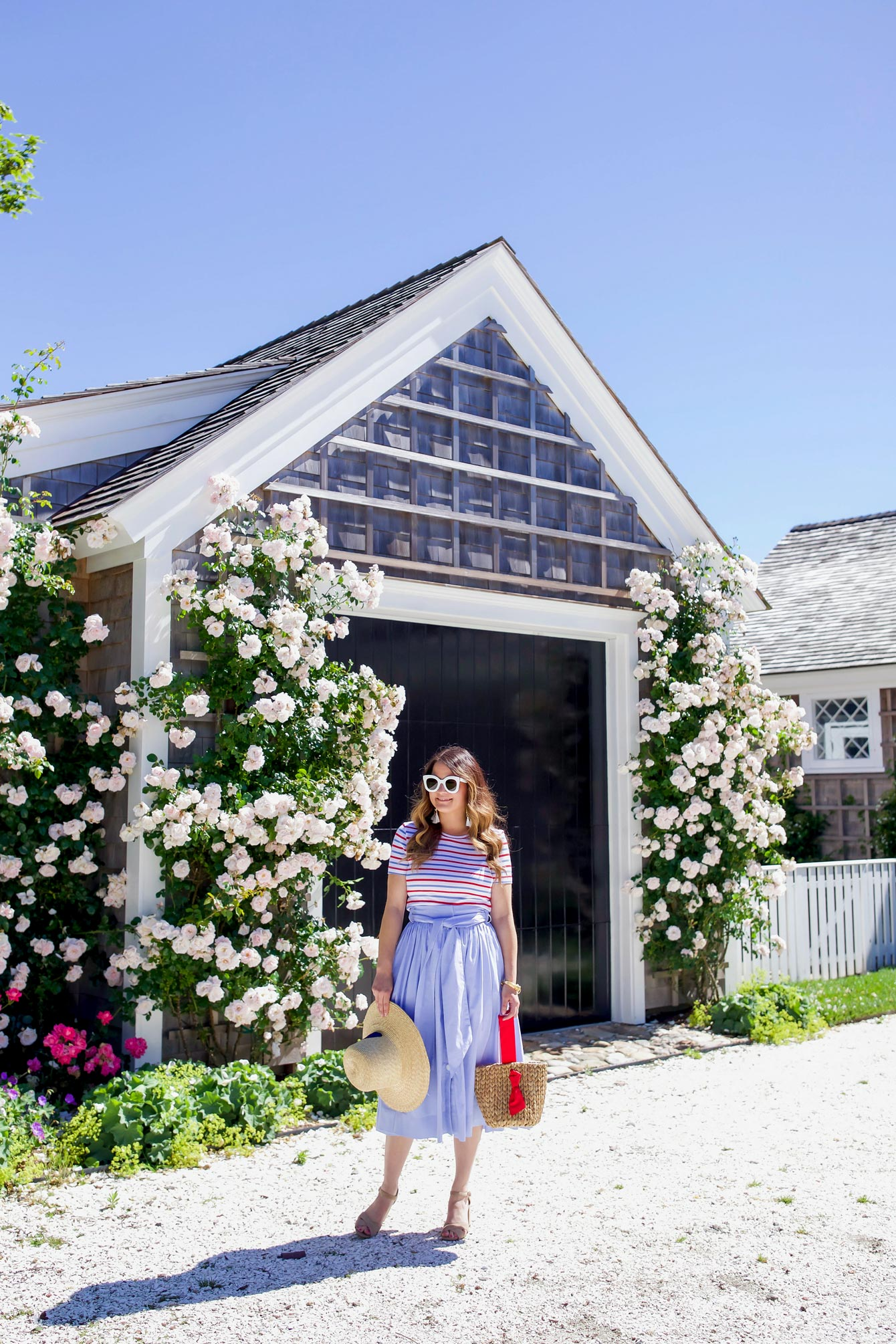 Flower Covered Cottages Sconset Nantucket