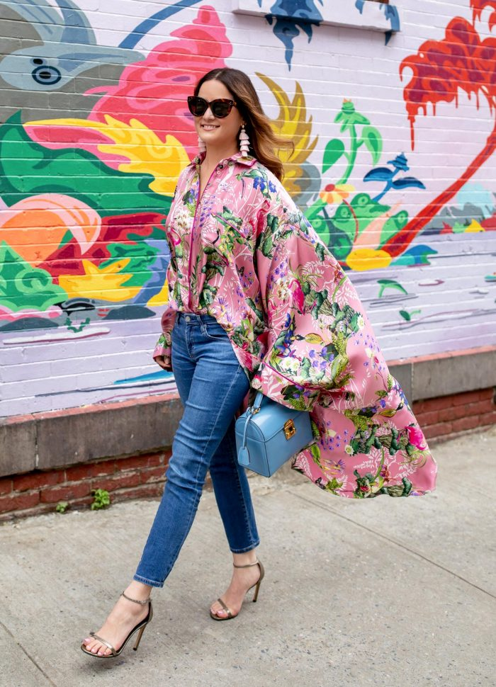 Styling a Kimono Top in Brooklyn