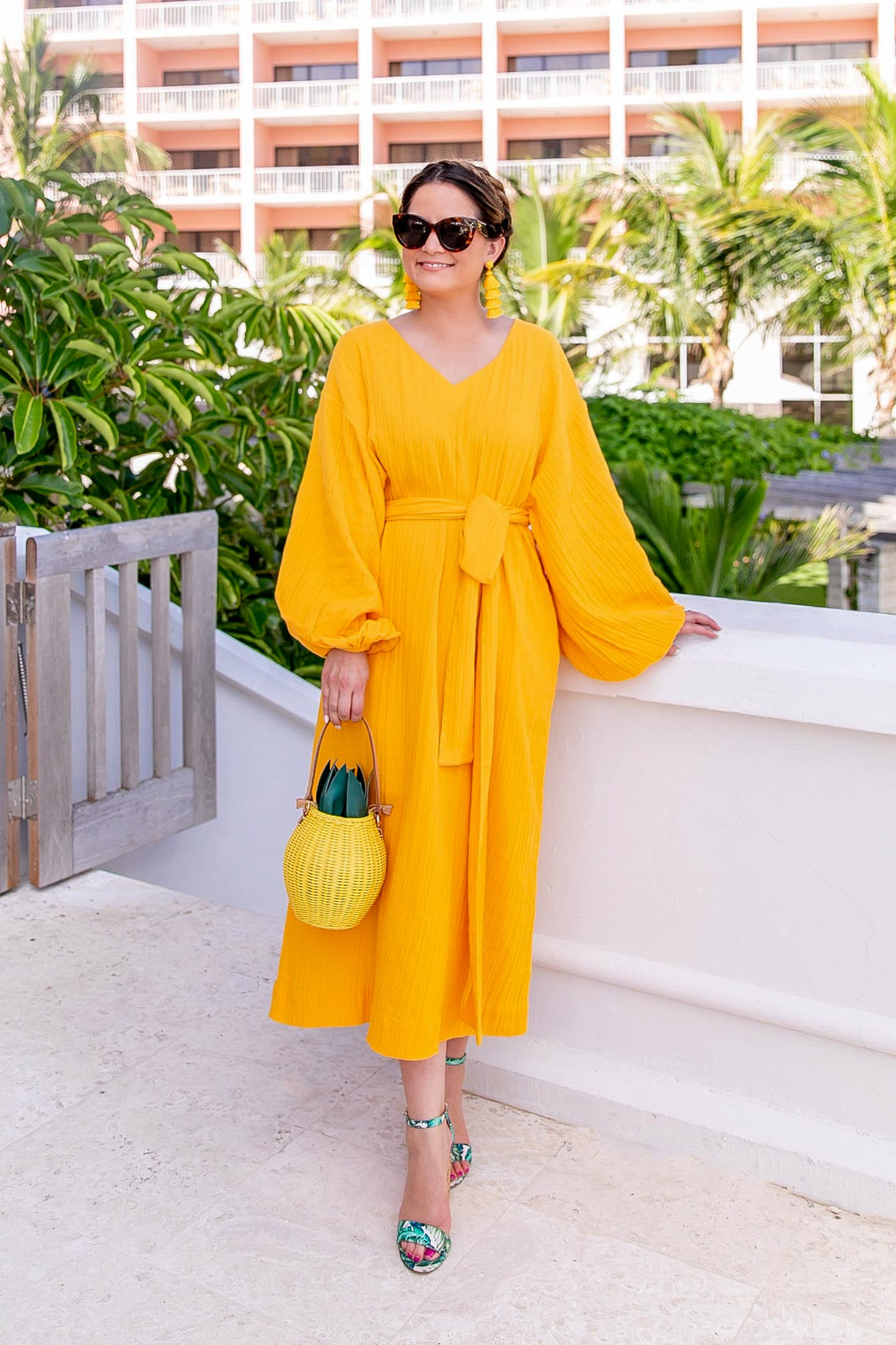 Rhode Resort Yellow Dress