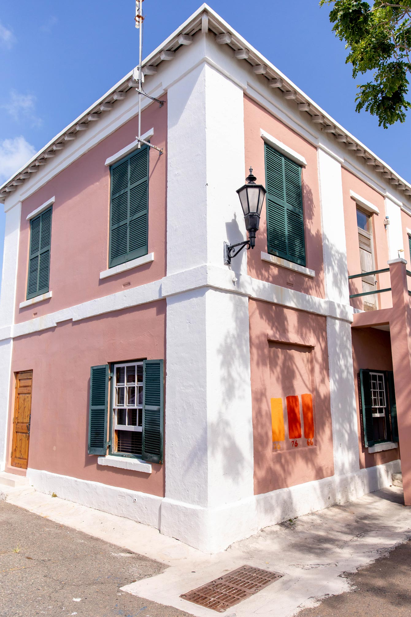 St. George's Bermuda Colorful Buildings