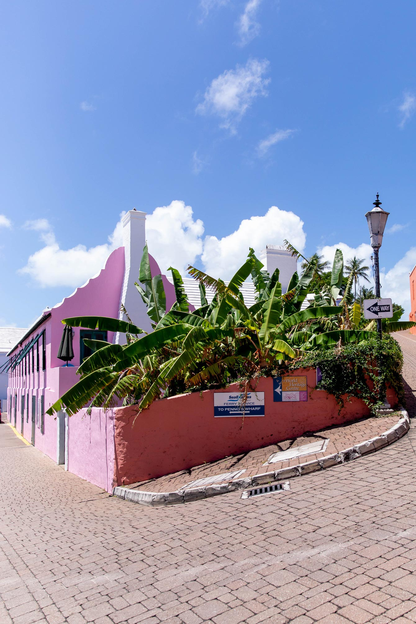 St George's Bermuda Pastel Buildings