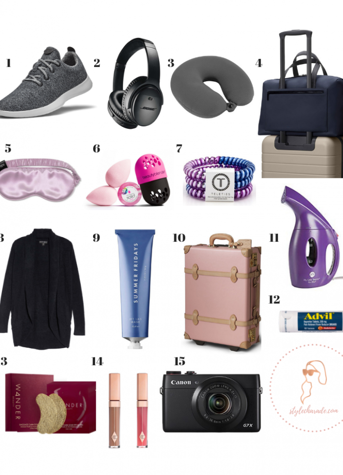 My 15 Essential Travel Items