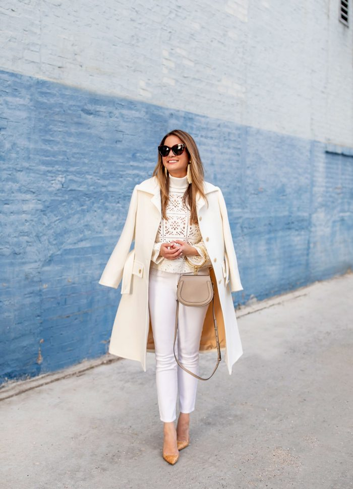 Styling an Ivory Coat // Chloé at Nordstrom