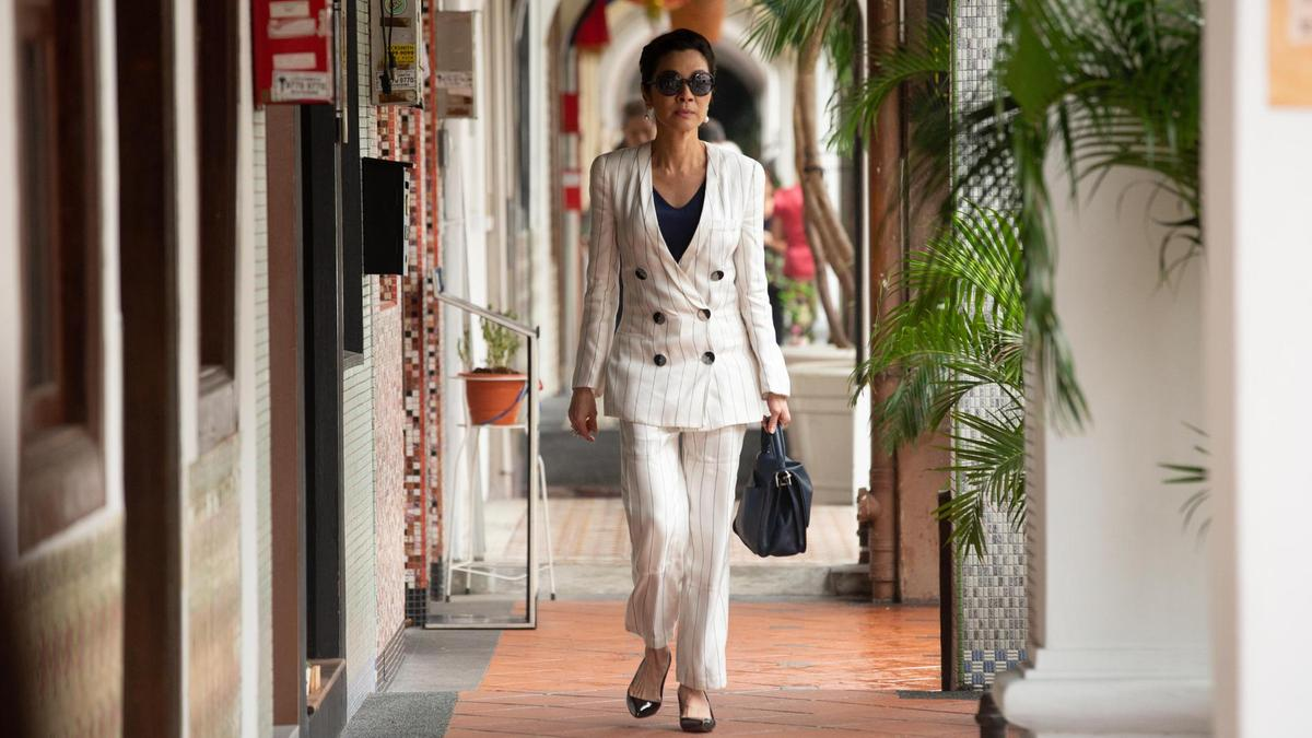 Crazy Rich Asians Pant Suit