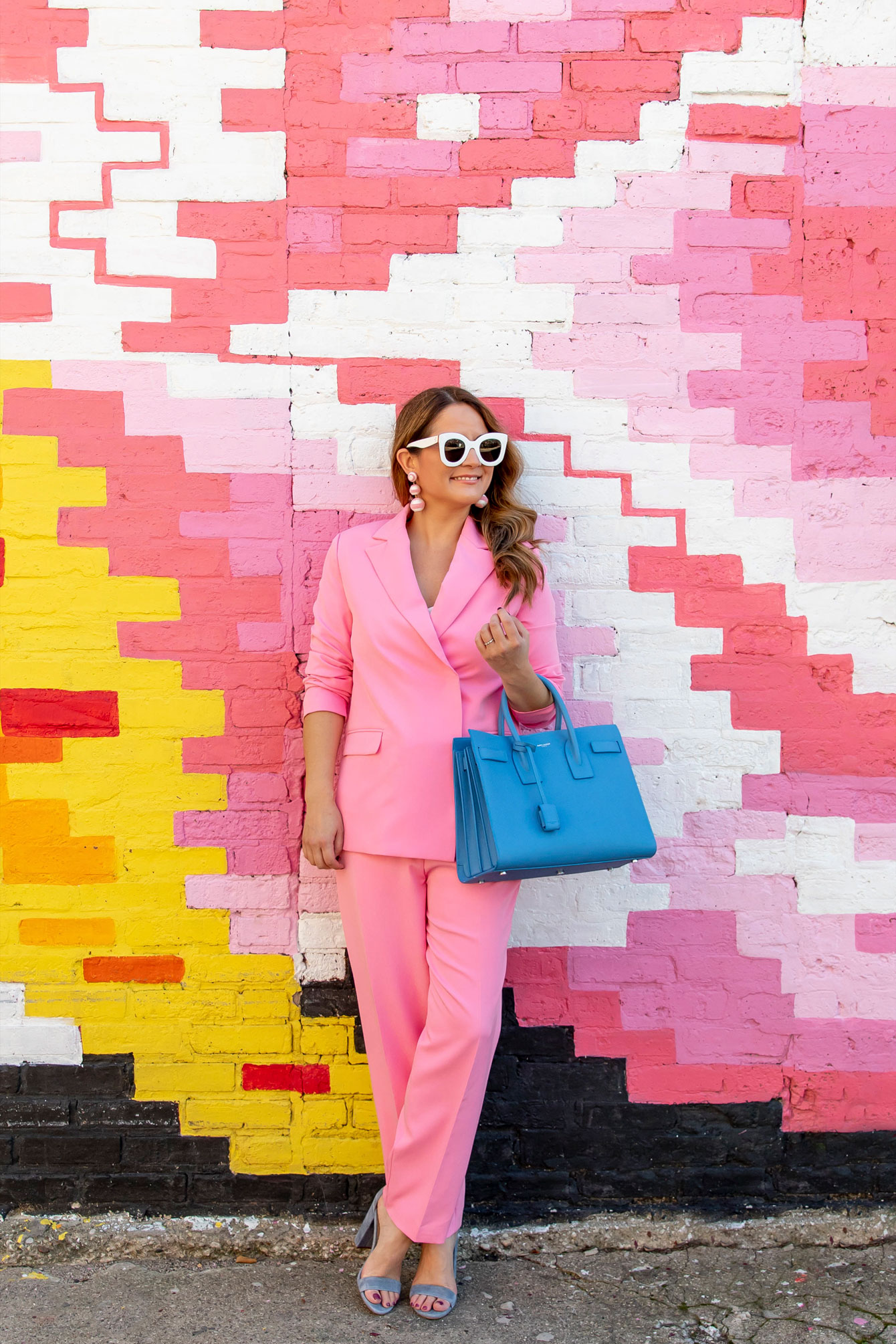 English Factory Pink Suit