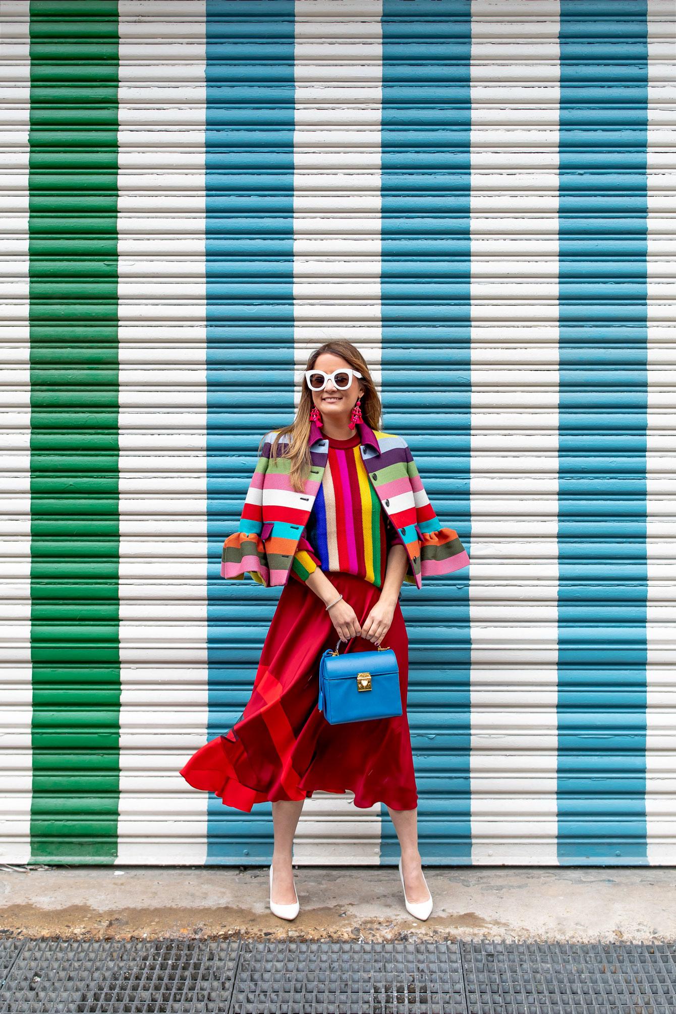 Jennifer Lake Milly Outfit Fashion Week