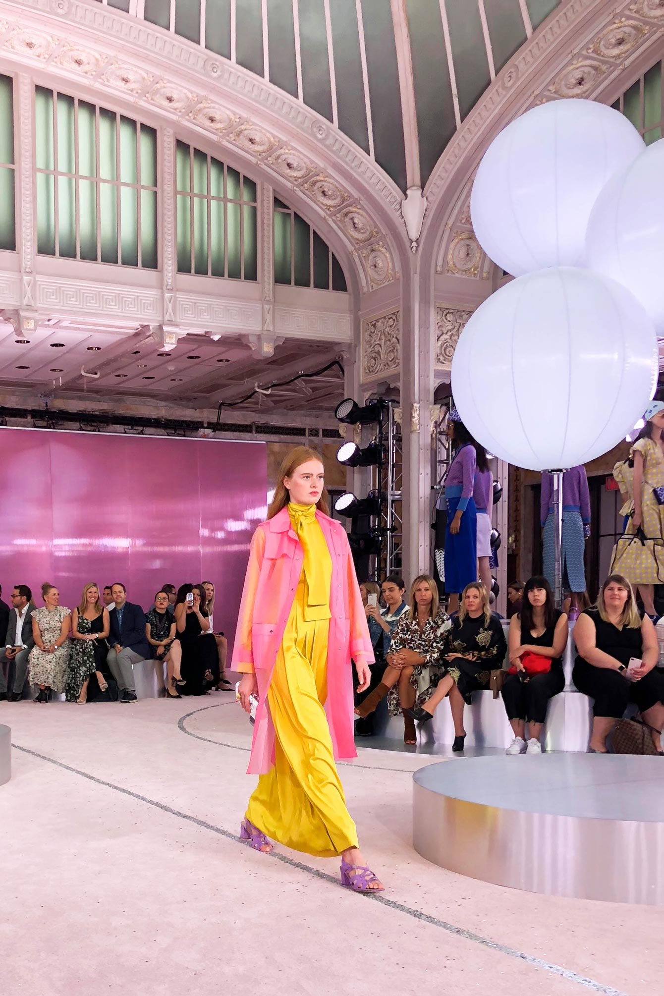 kate spade Pink Yellow Outfit Spring 2019