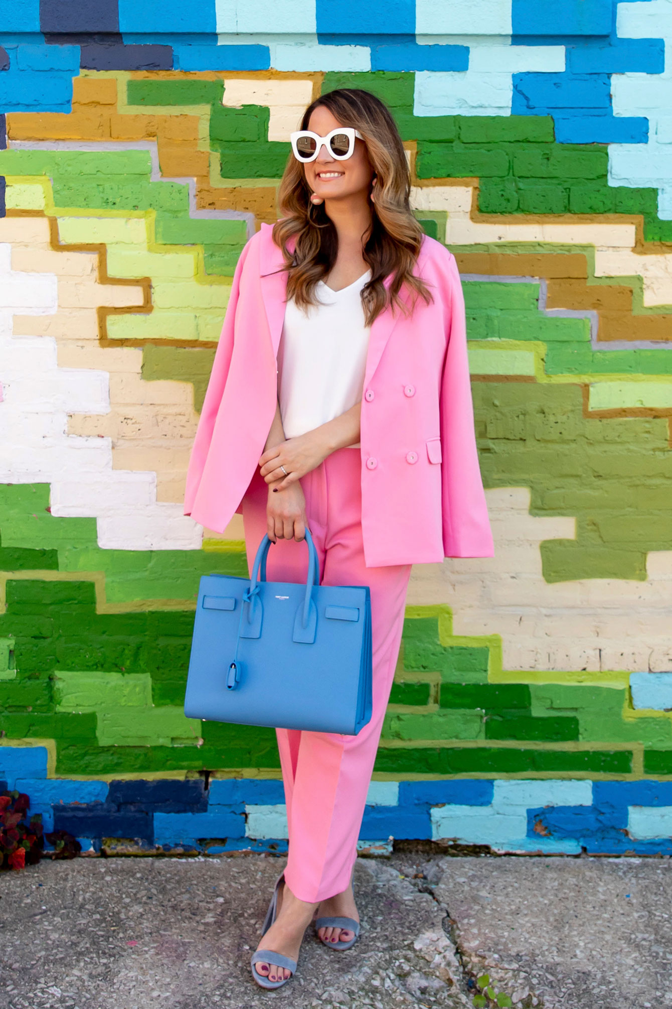 Nordstrom Pink Suit