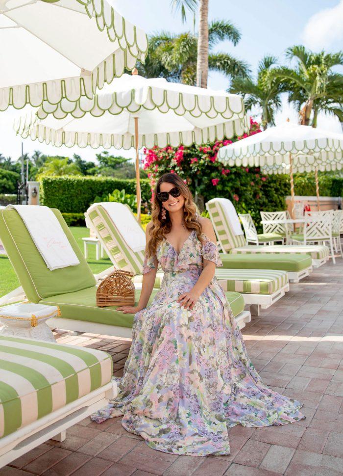 Floral Maxi Dress // Colony Hotel Palm Beach