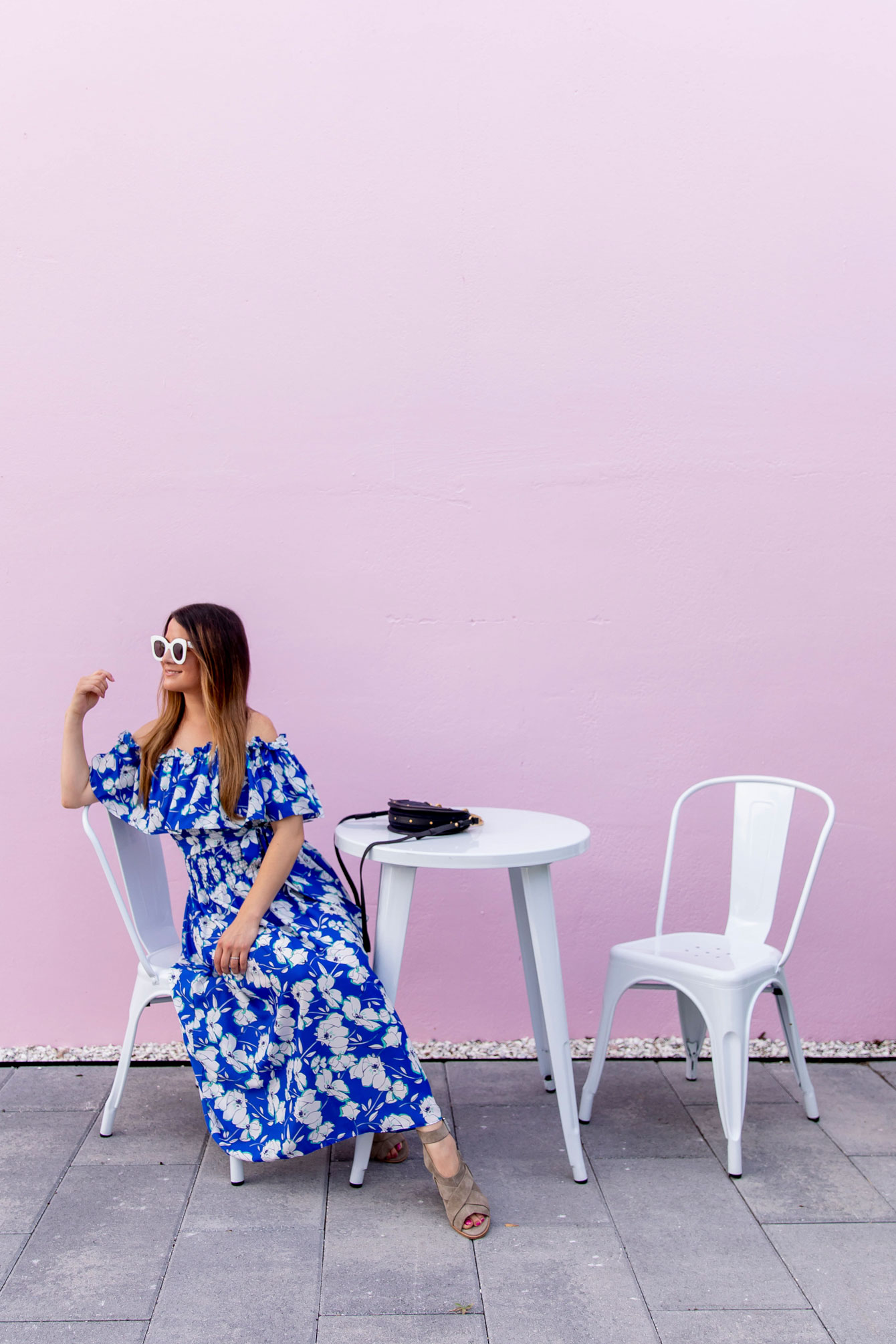 Palm Beach Pink Wall