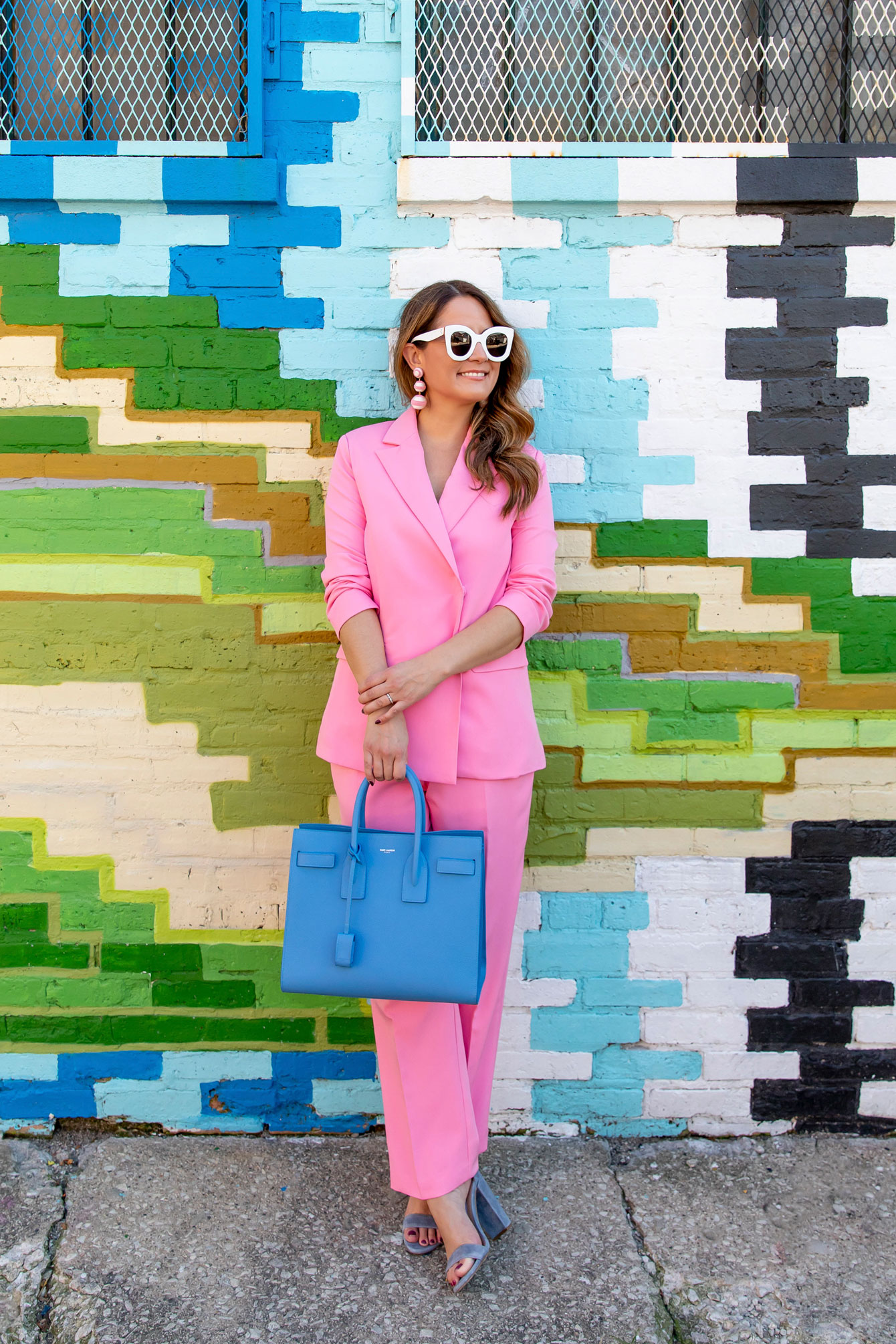 Affordable Pink Suit