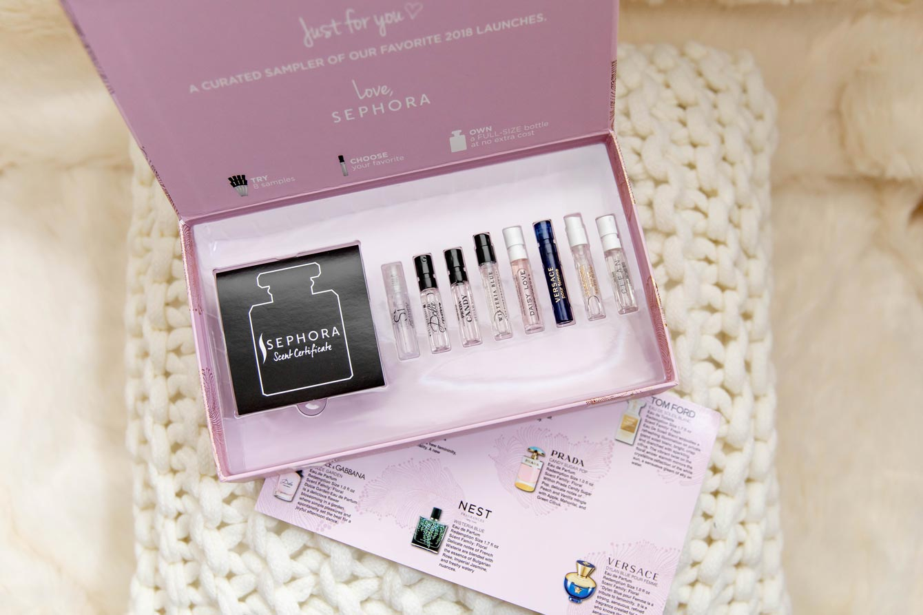 Sephora Fragrance Gift Box