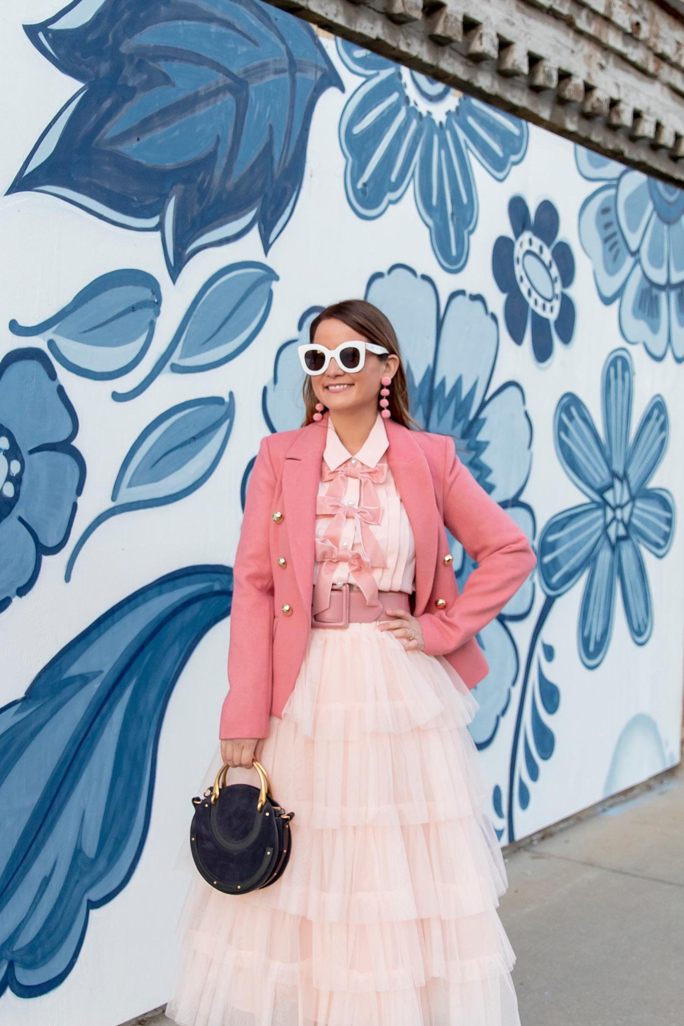 Blair Eadie Pink Tulle Skirt