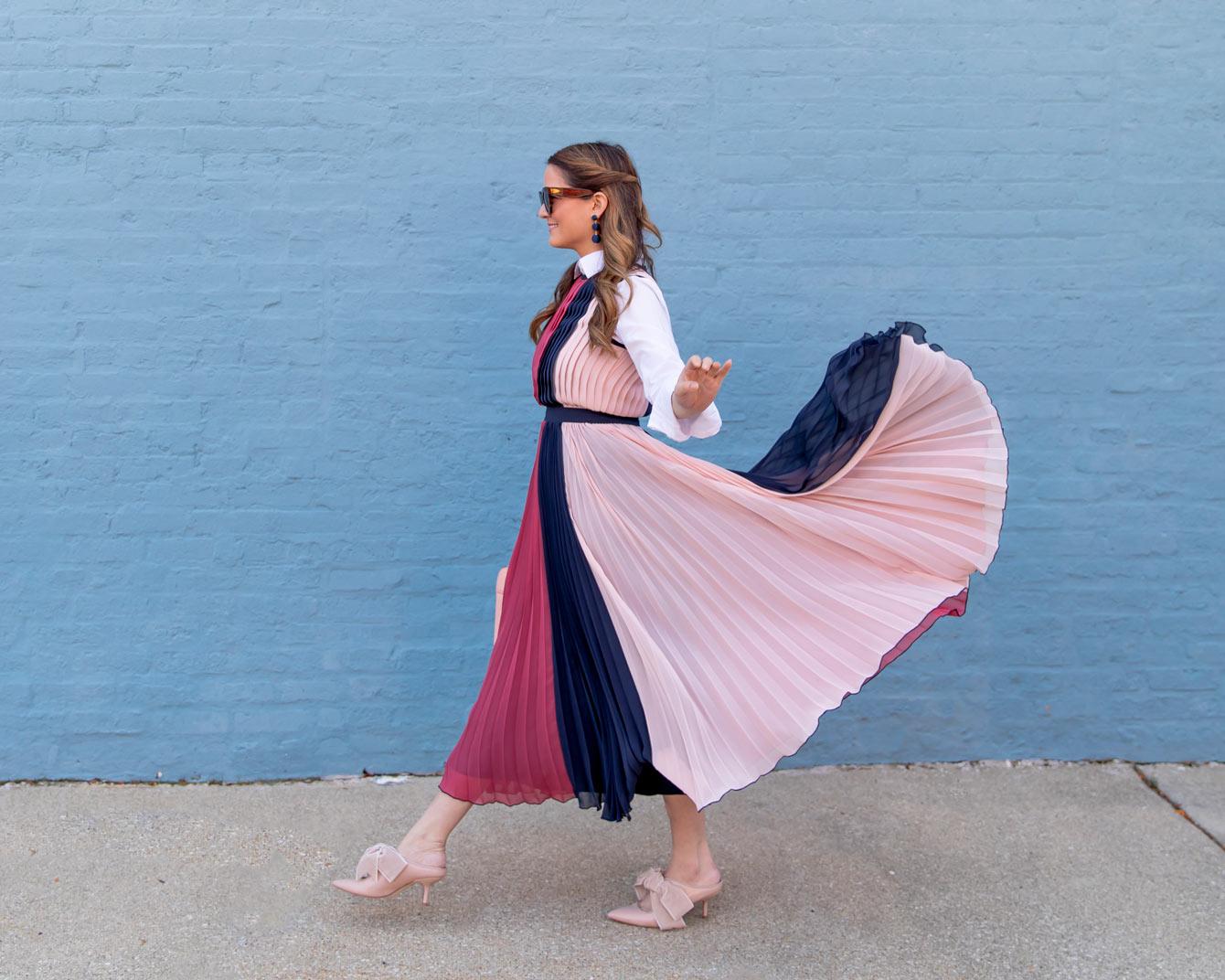 Blair Eadie Pleated Dress