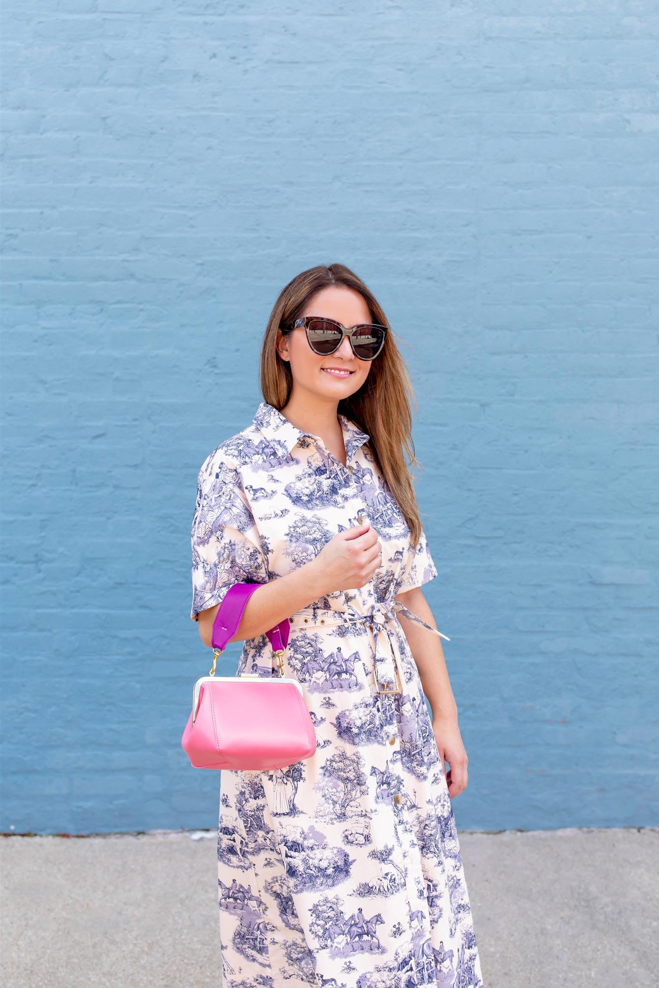 Clare V Pink Bag