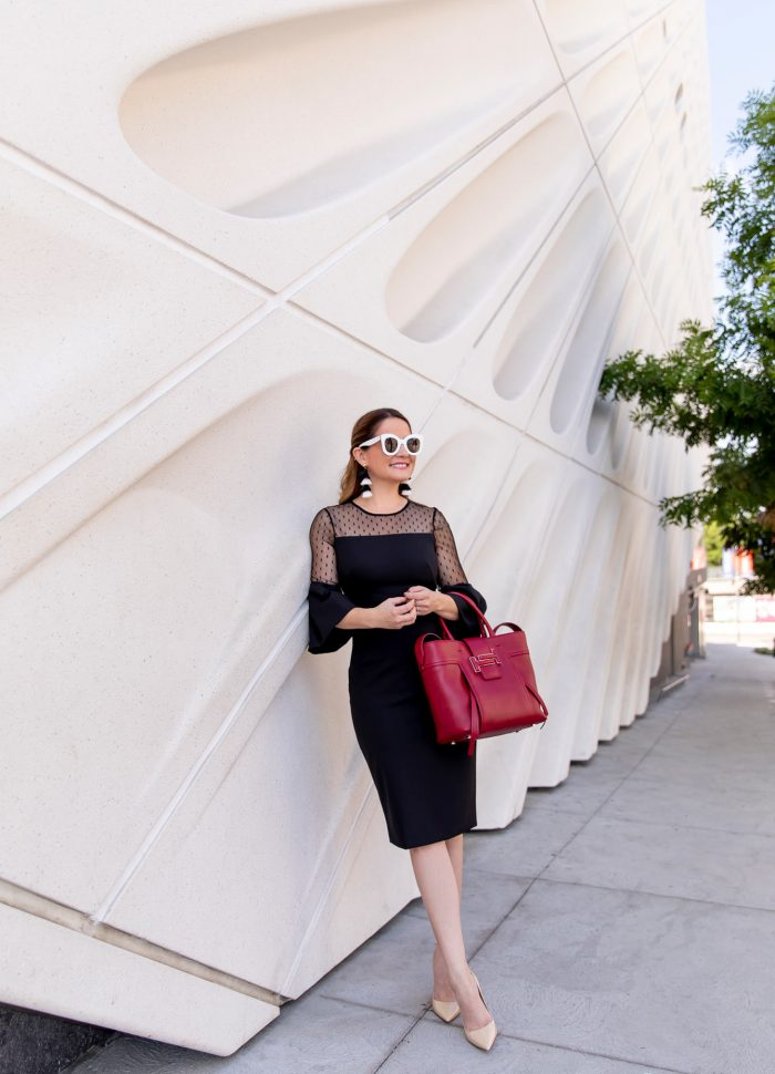 The Perfect Black Cocktail Dress // Friday Charades