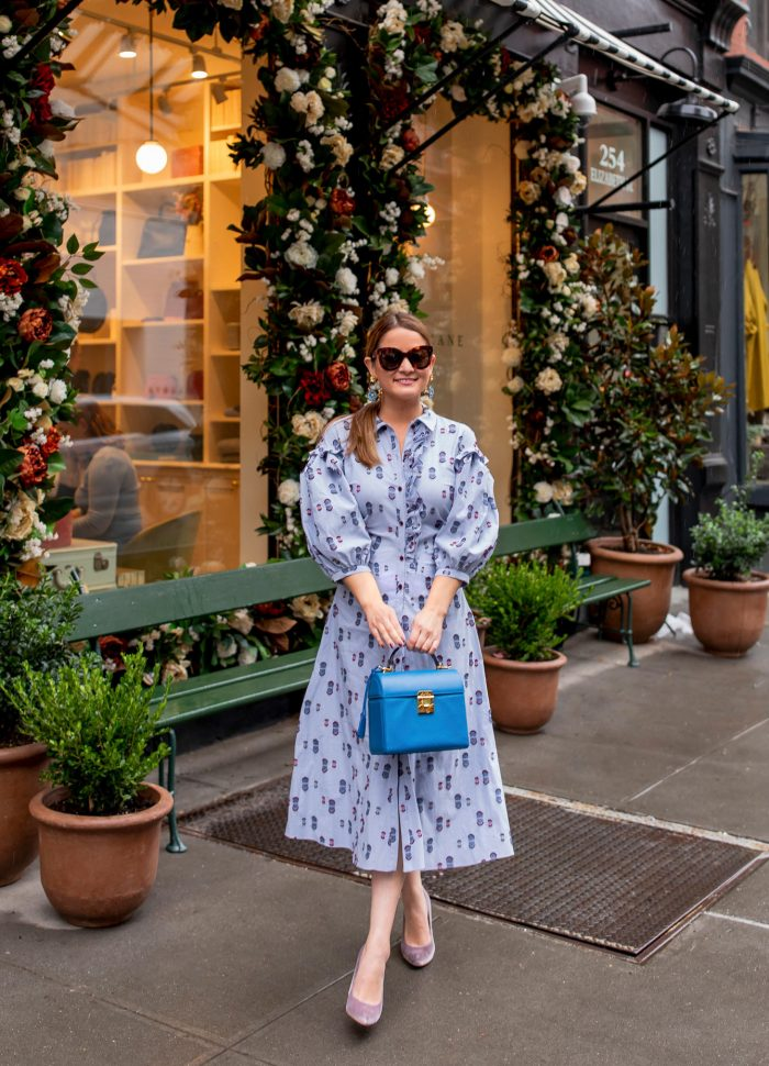 AUDRA Blue Shirtdress // Friday Charades
