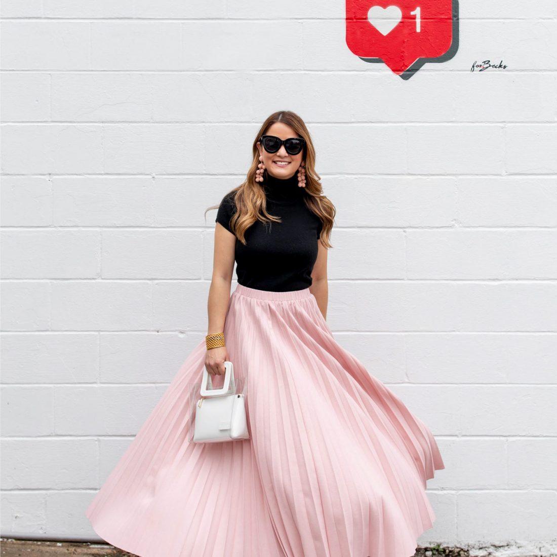 Jennifer Lake Twirling Skirt