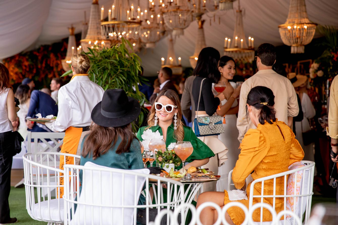 Jennifer Lake Veuve Clicquot Los Angeles VIP