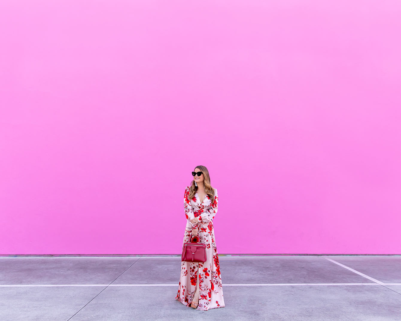 Los Angeles Instarammable Pink Wall