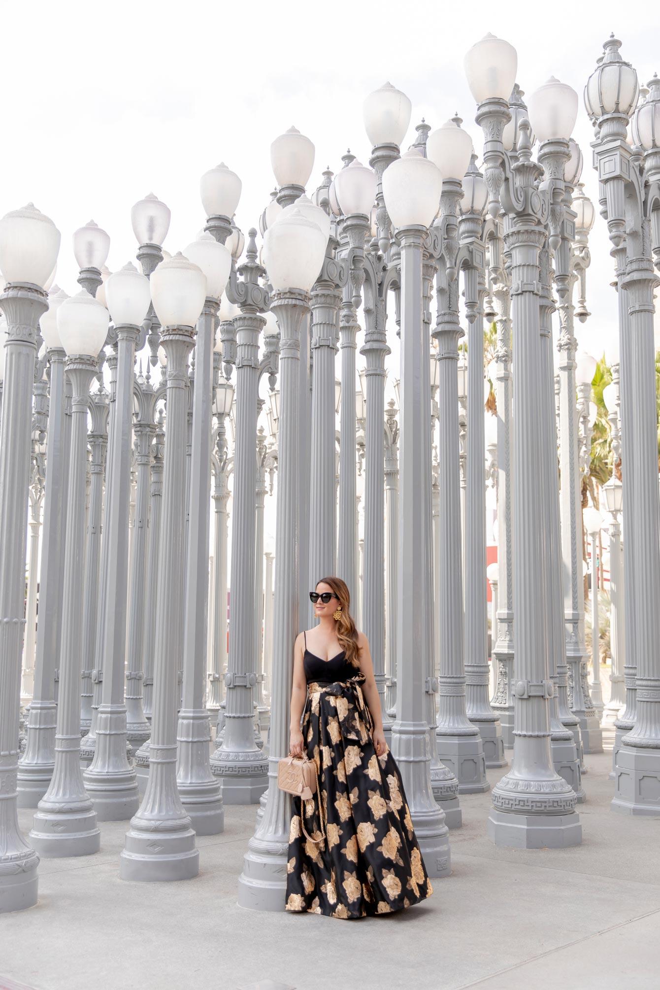 Los Angeles Lights Installation