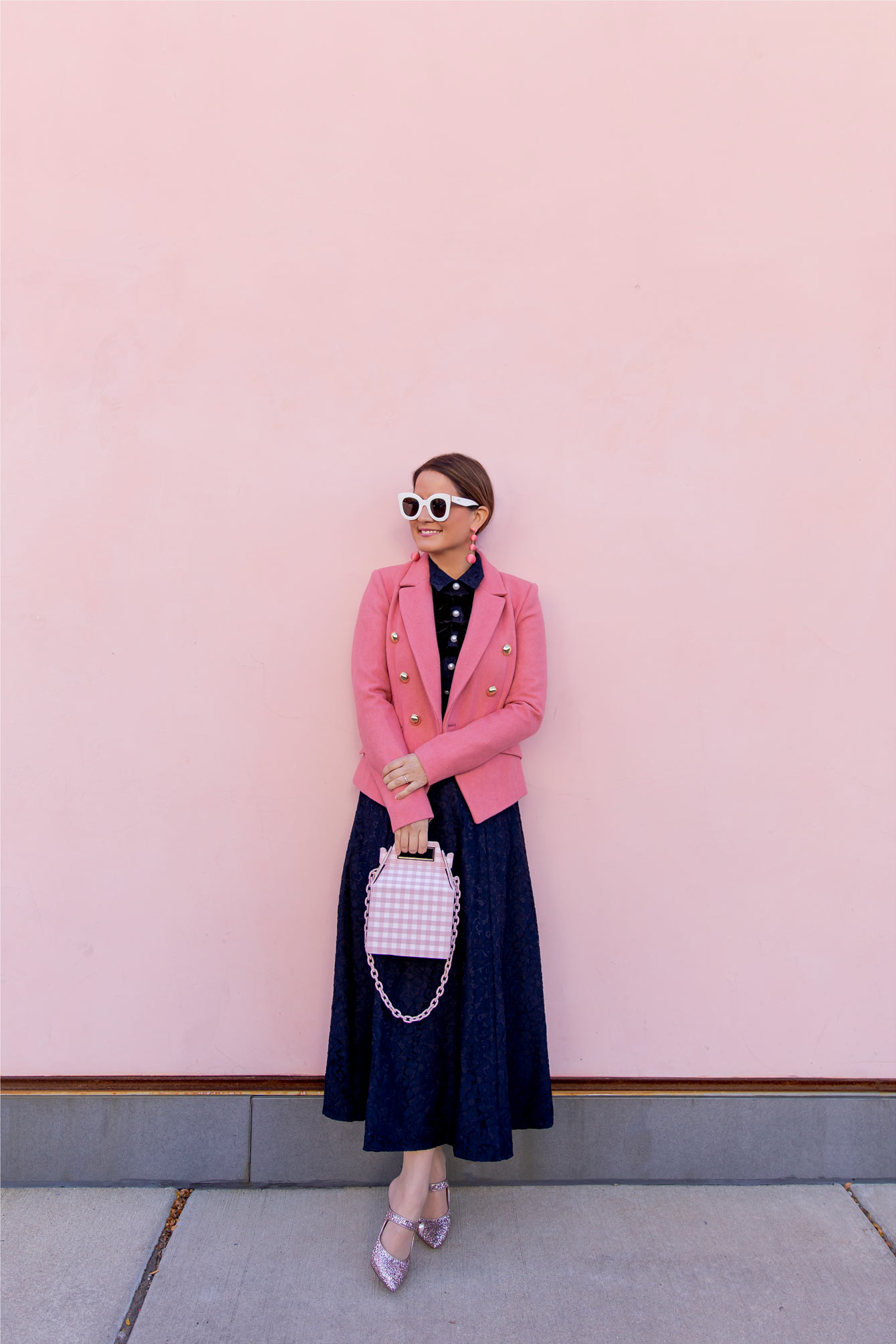 Nordstrom Pink Blazer Atlantic-Pacific