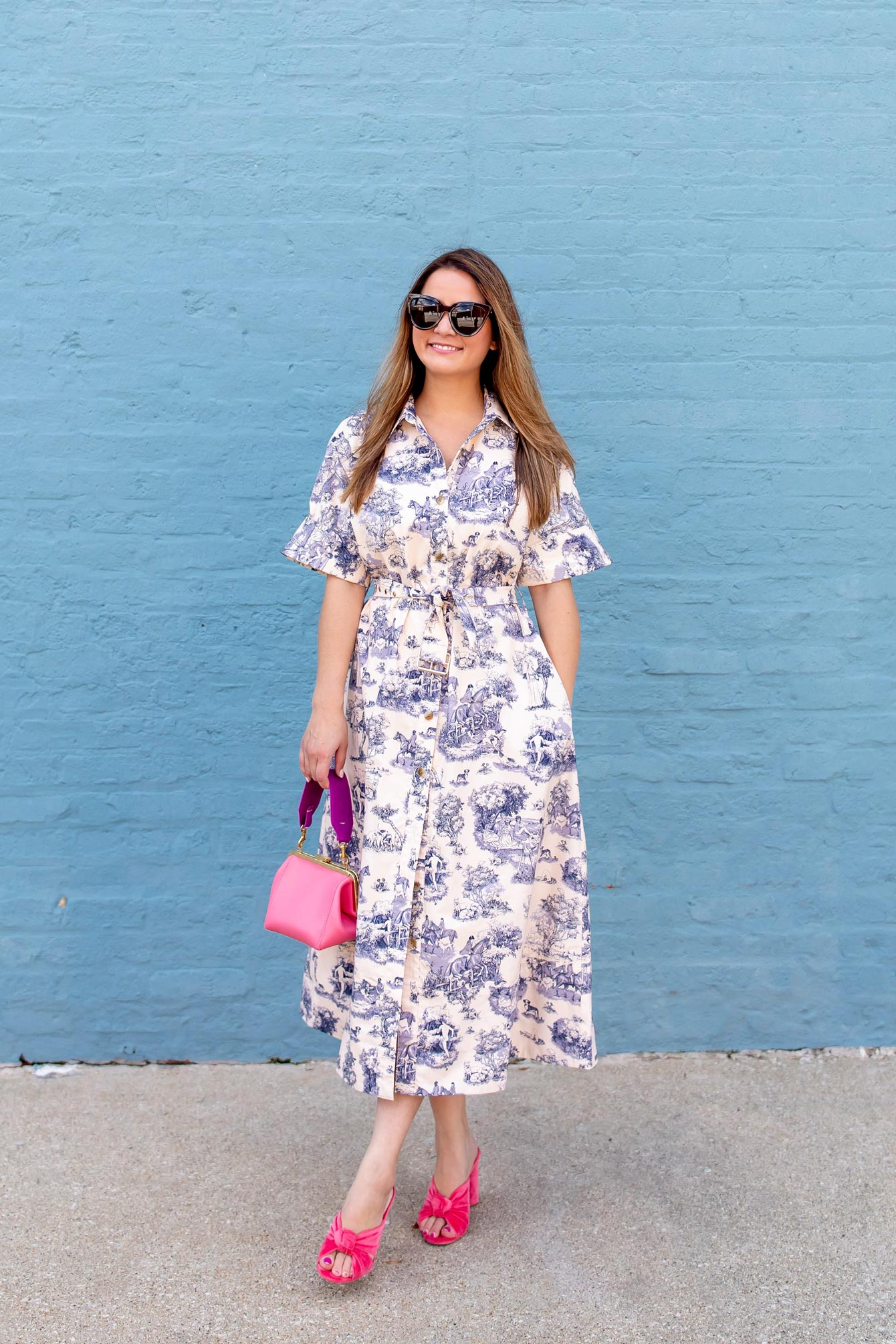Parisian Toile Dress
