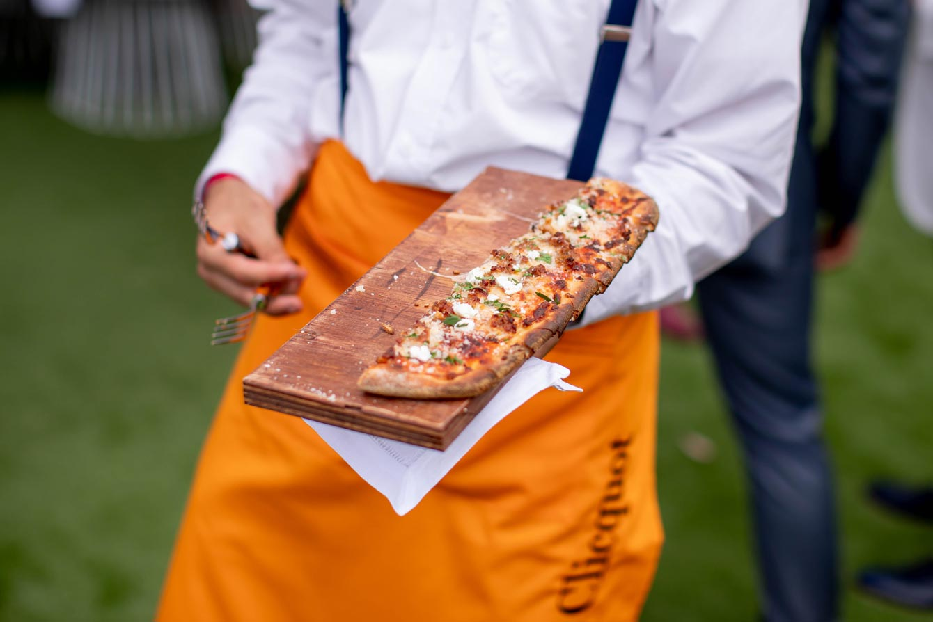 Veuve Clicquot Polo Classic Food