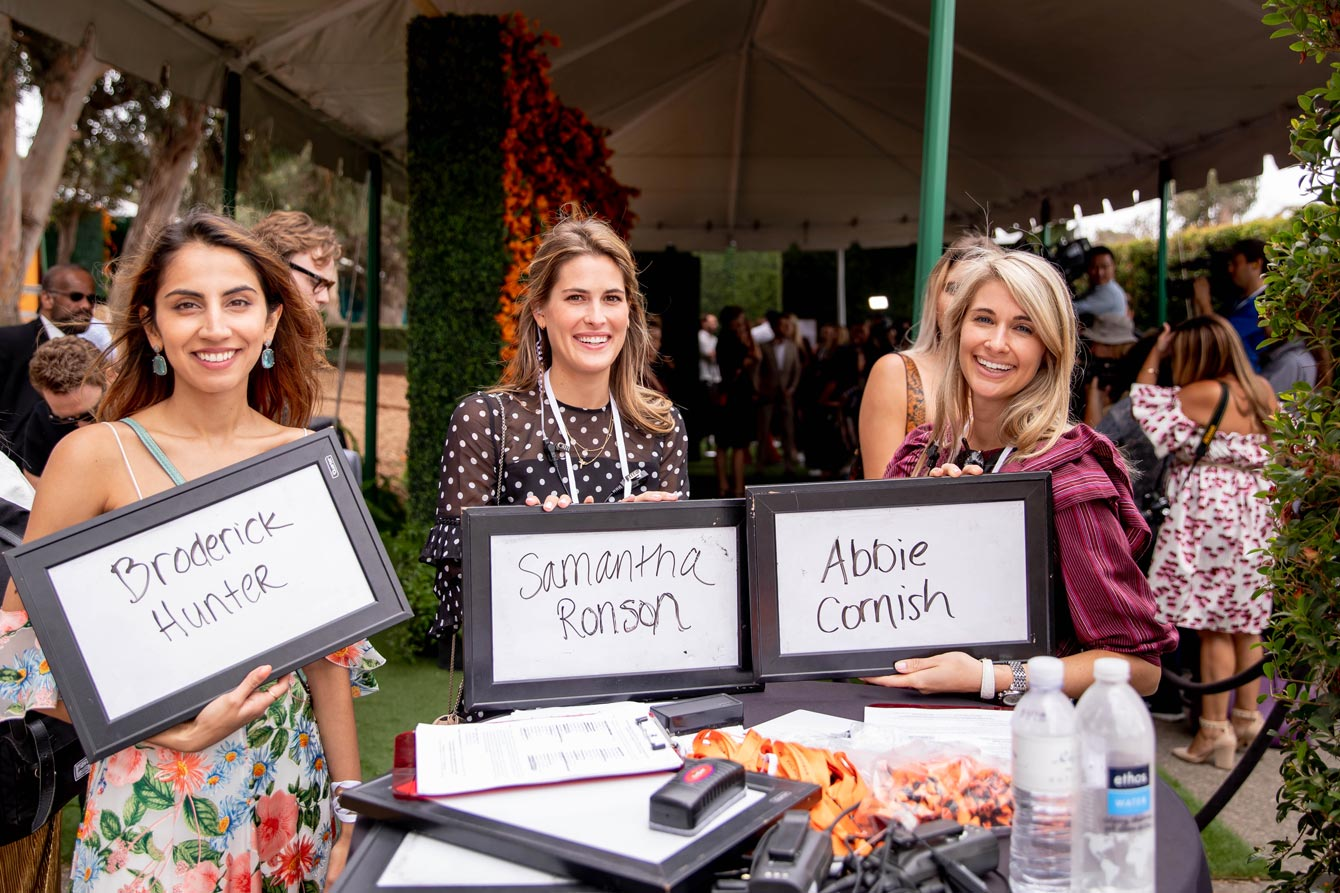 Veuve Clicquot Polo Classic Step Repeat