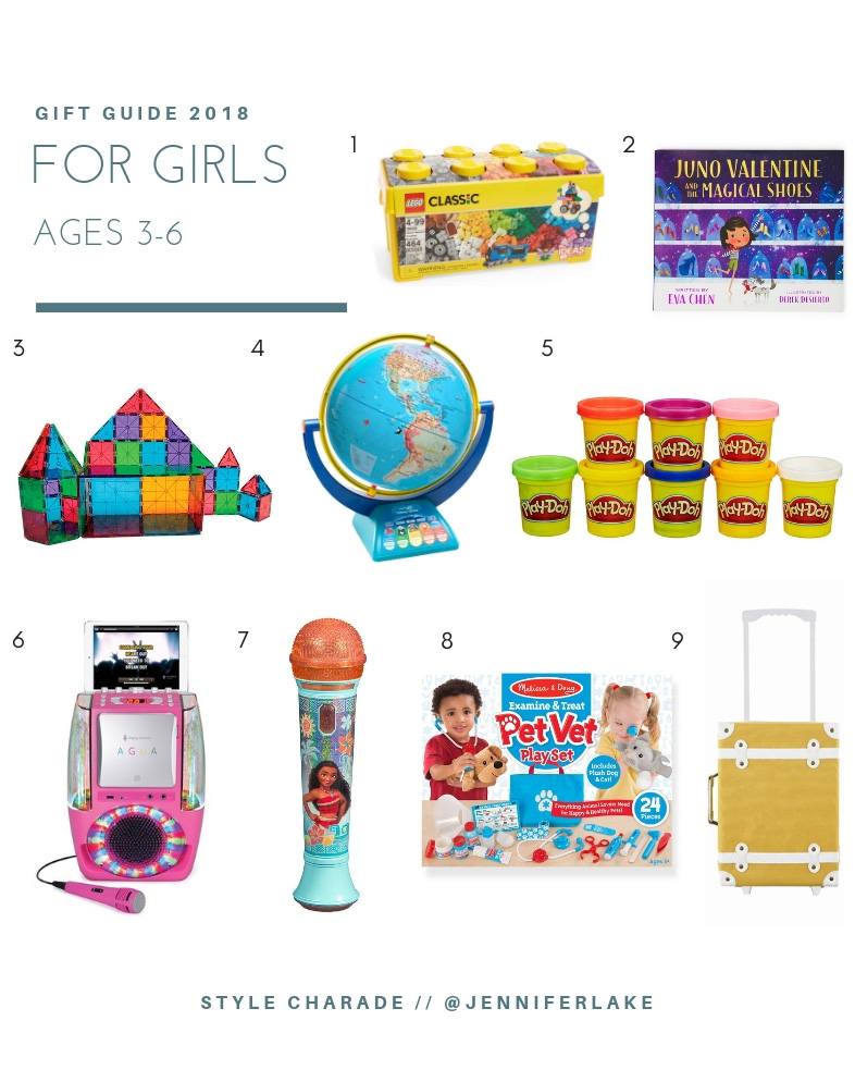 Best Holiday Gifts for Girls Ages 3-6