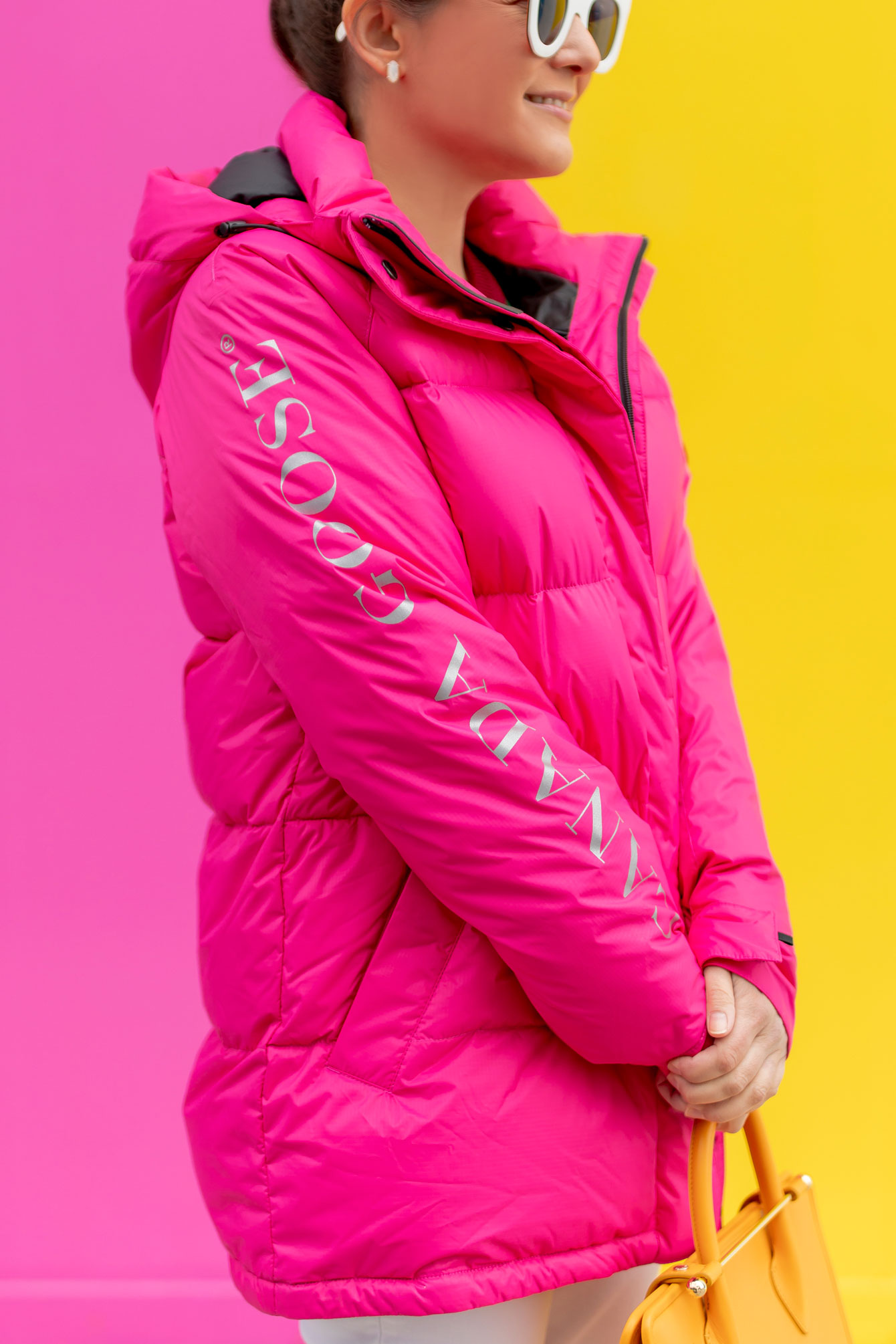 Canada Goose Pink Approach Jacket