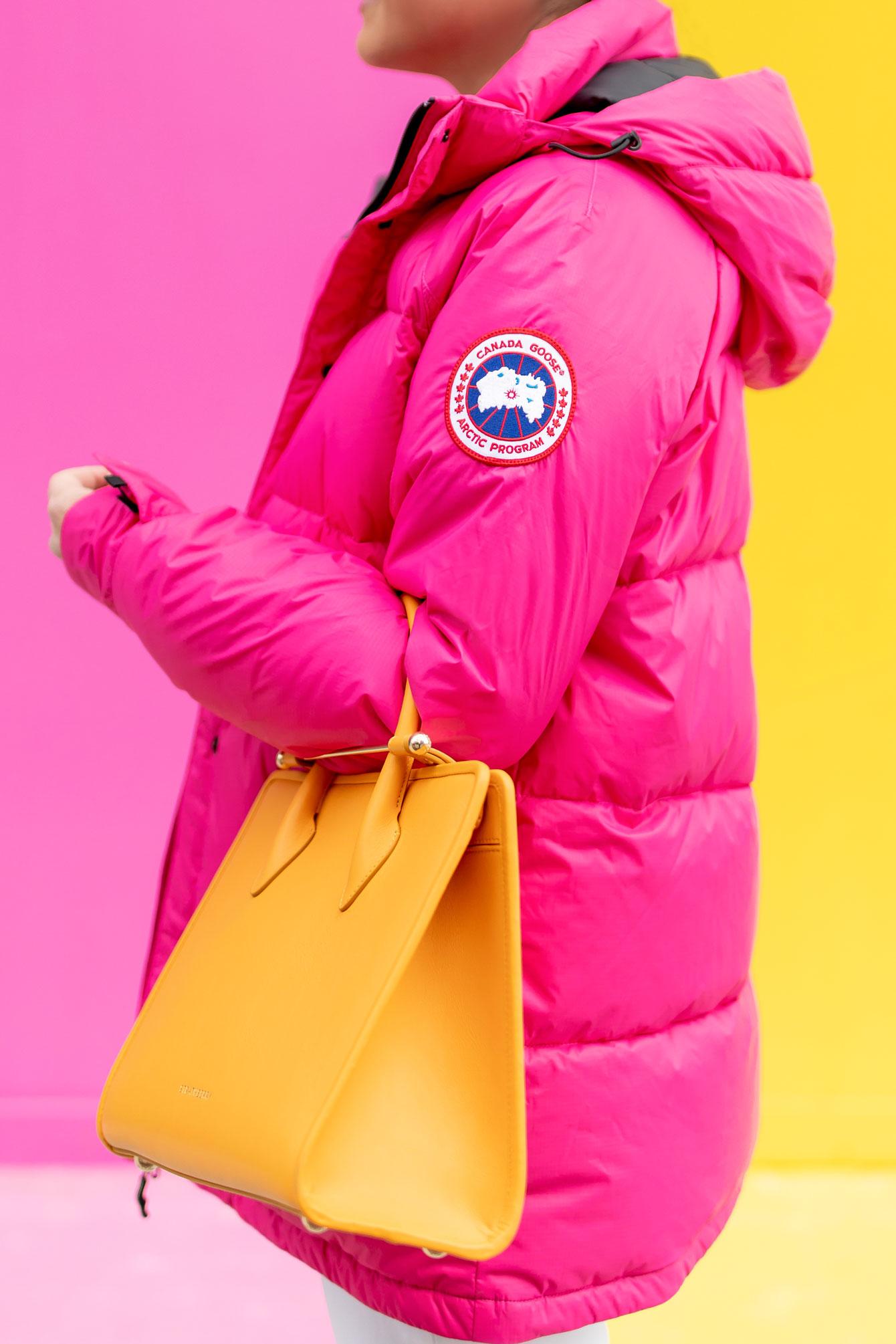 Canada Goose Pink Jacket