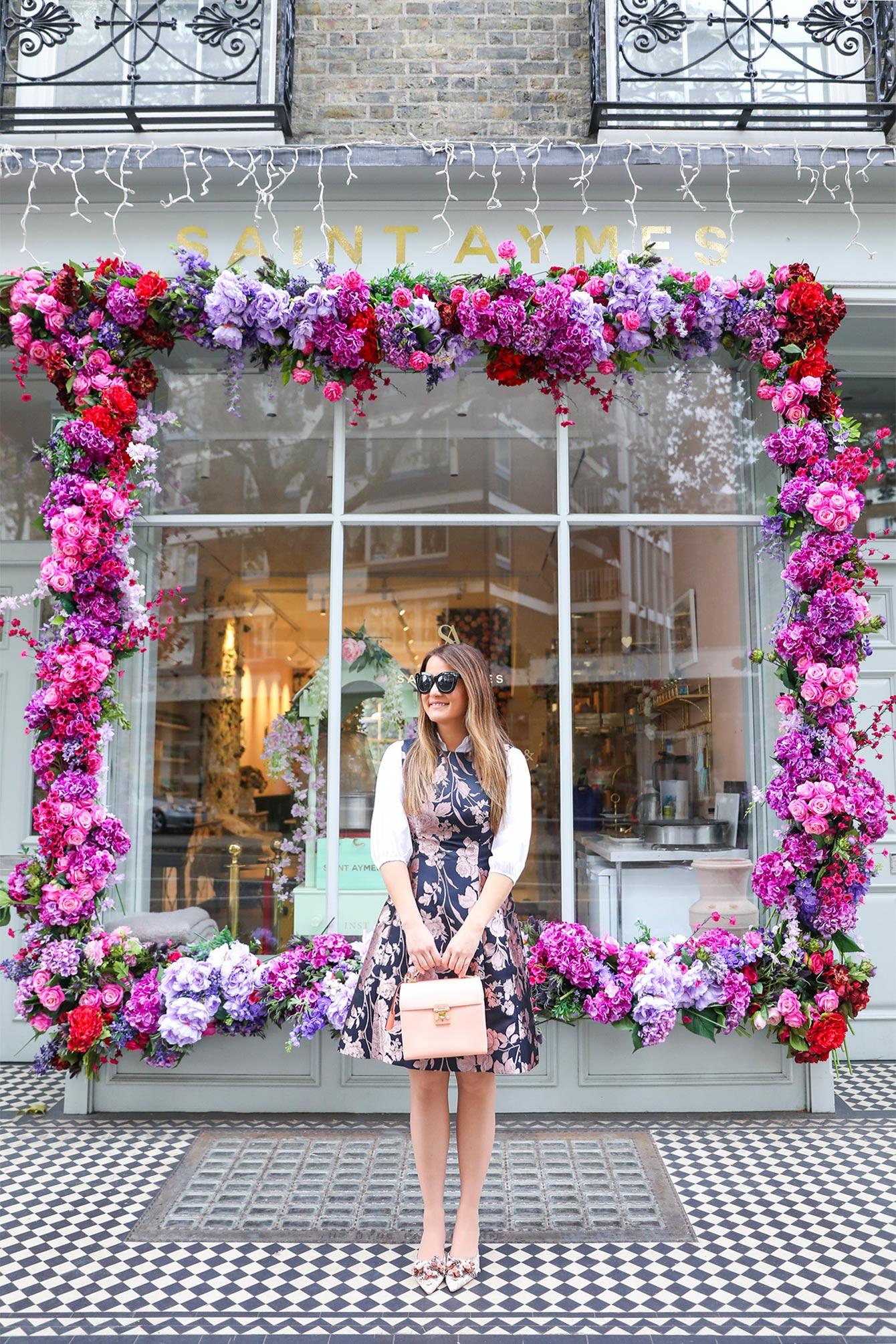 Jennifer Lake Floral Storefront London