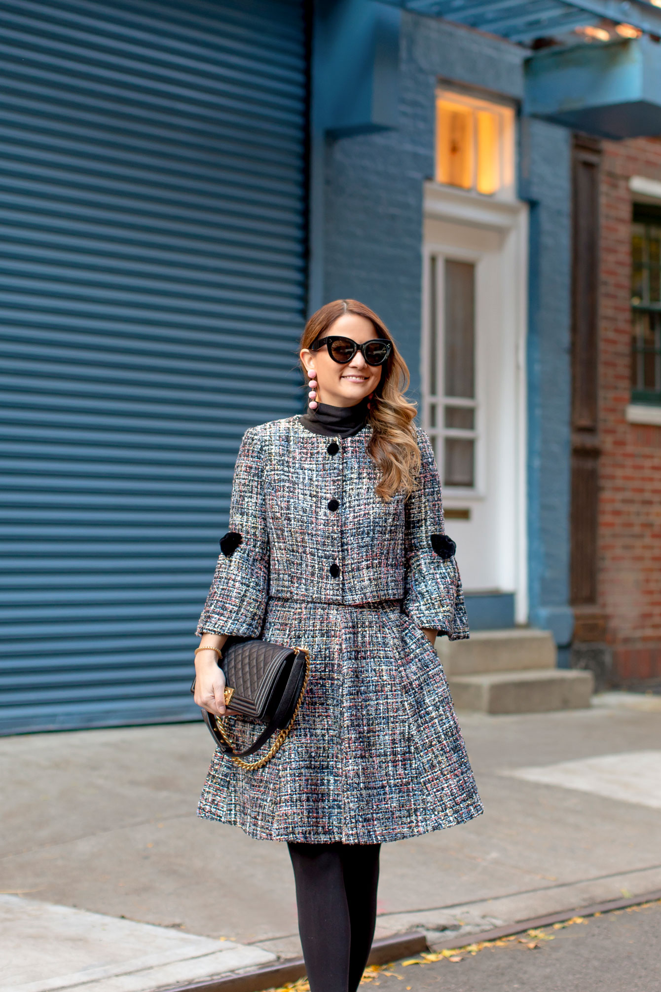 The Perfect Tweed Skirt Set For The Season Style Charade