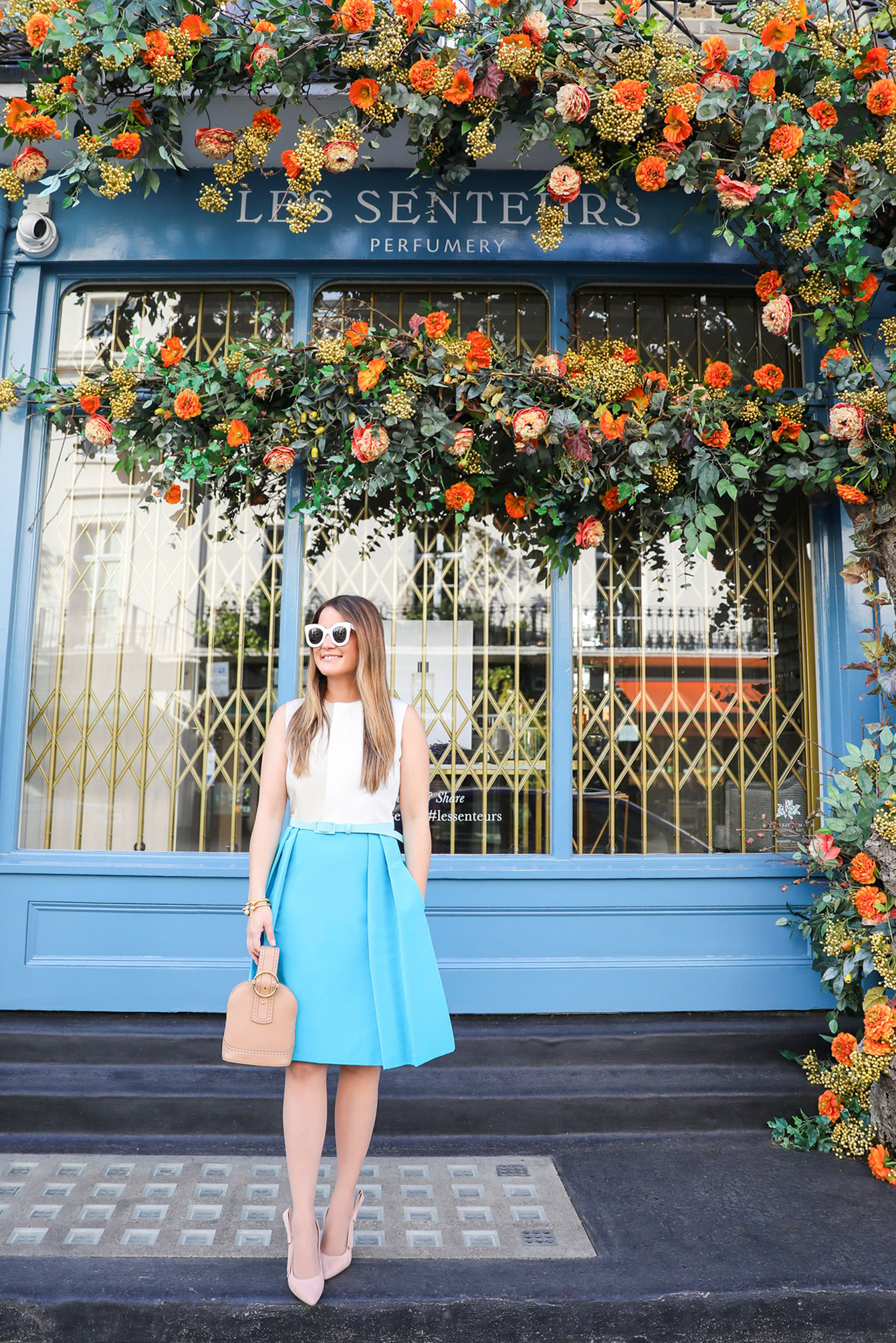 London Floral Storefront