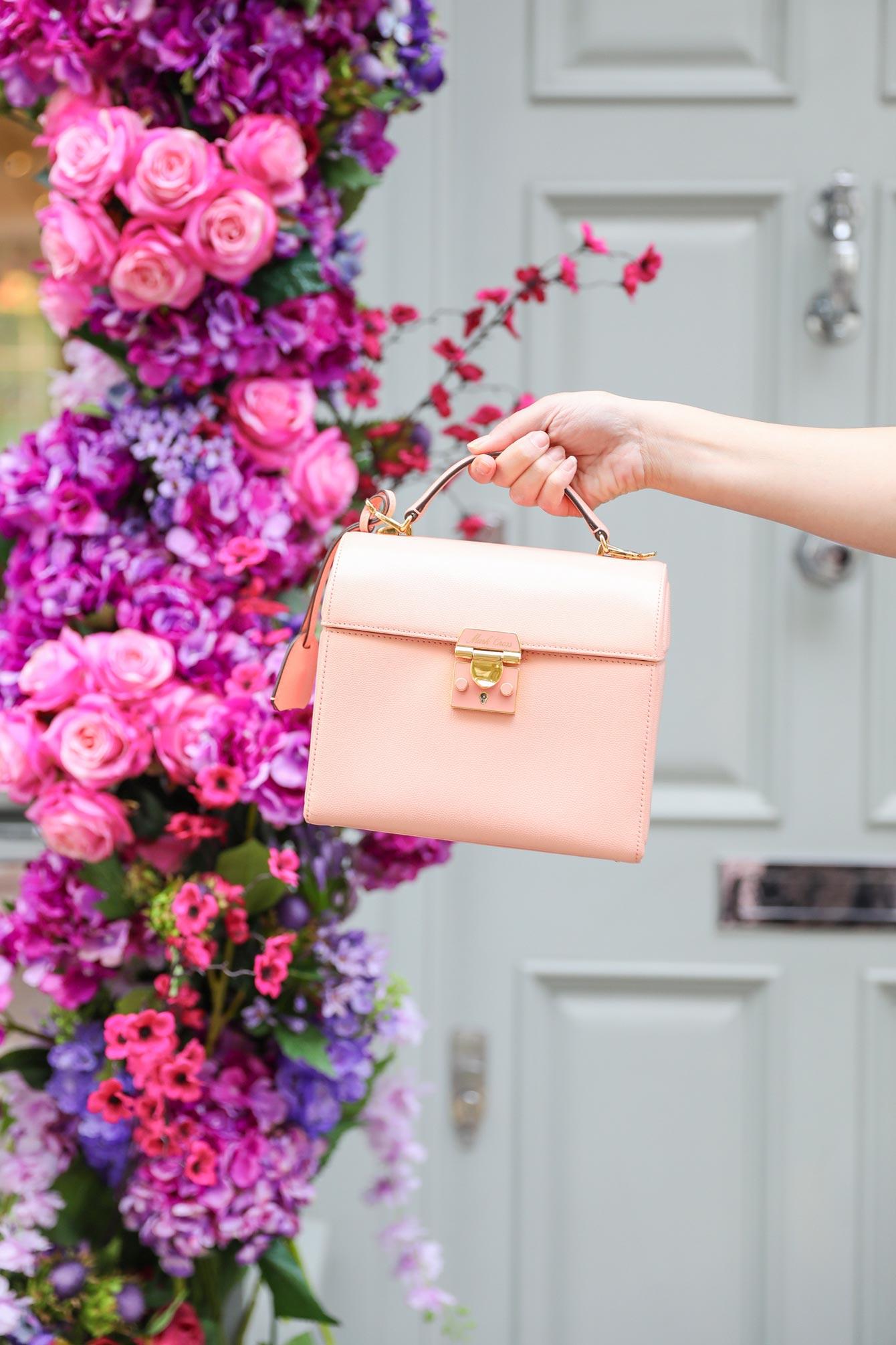 Mark Cross Pink Sara Bag