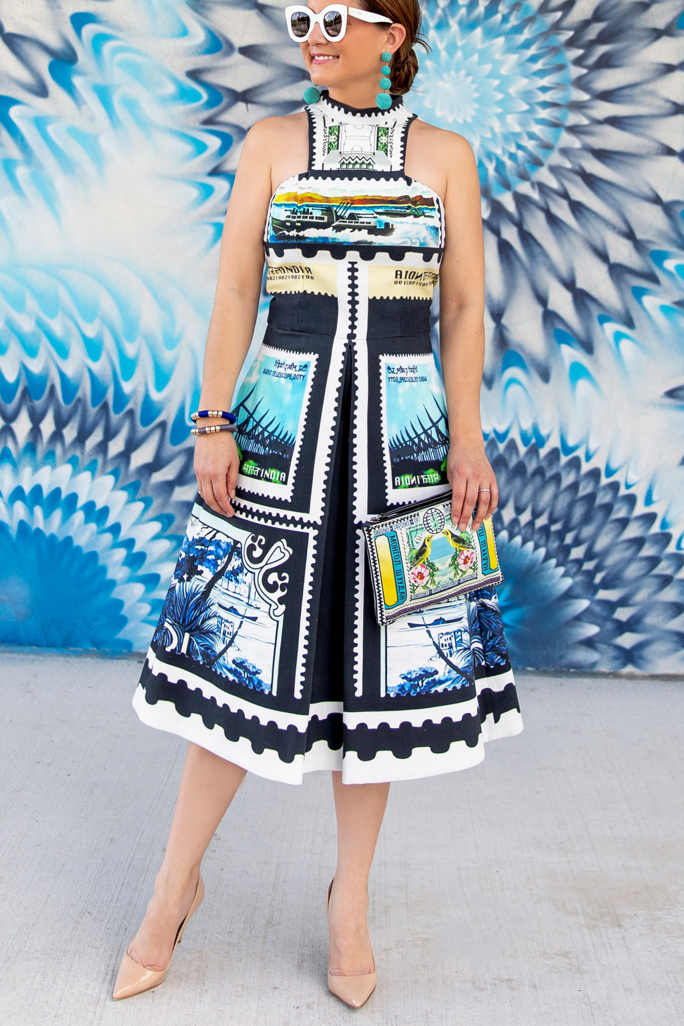 Mary Katrantzou Spring 2013 Dress