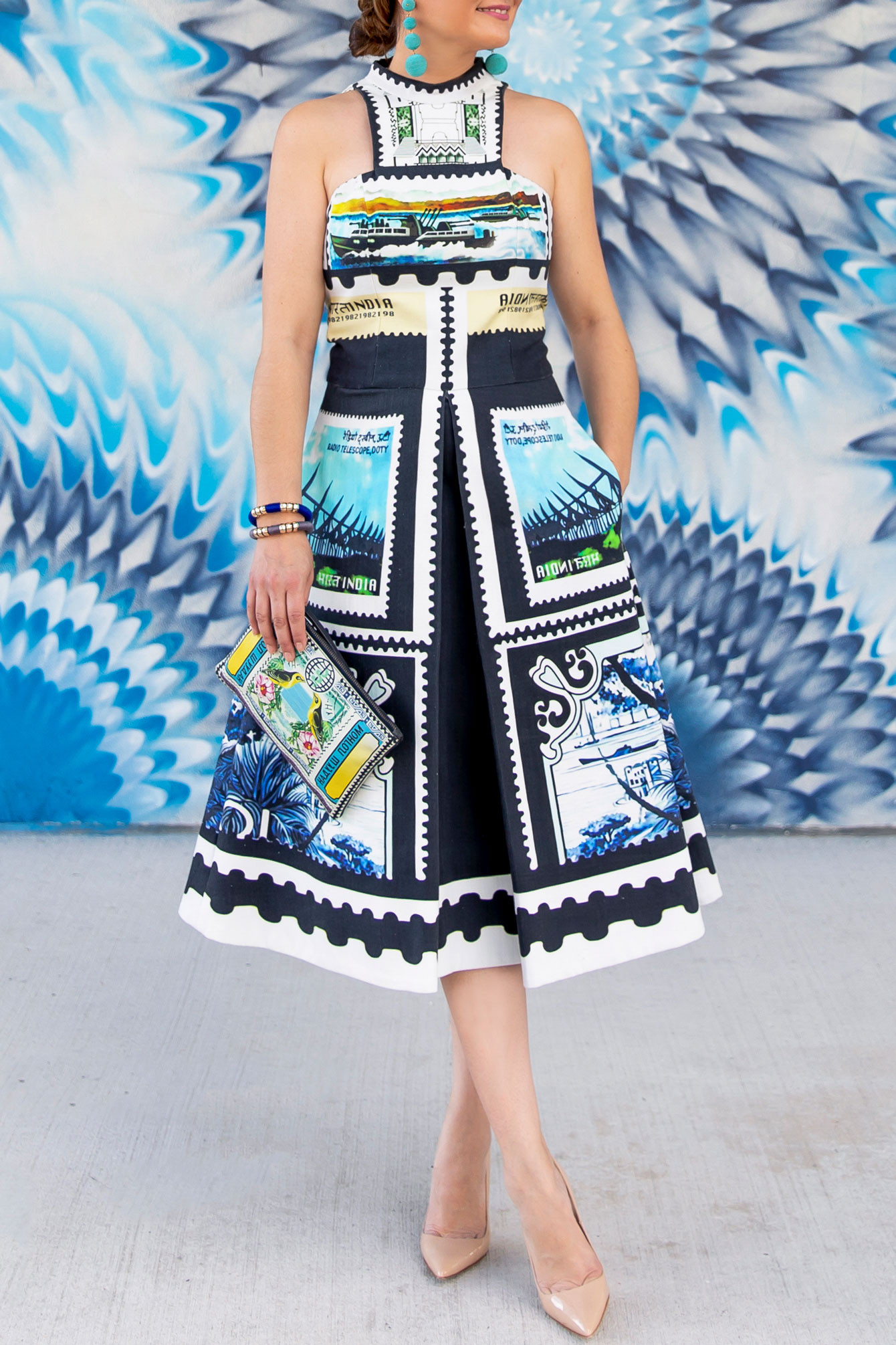 Mary Katrantzou Stamp Dress