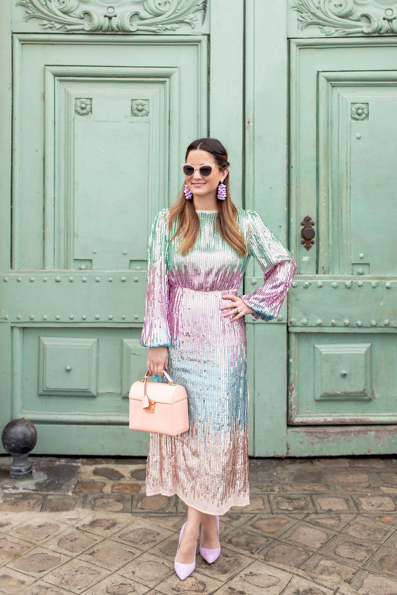 Rixo London Sequin Dress