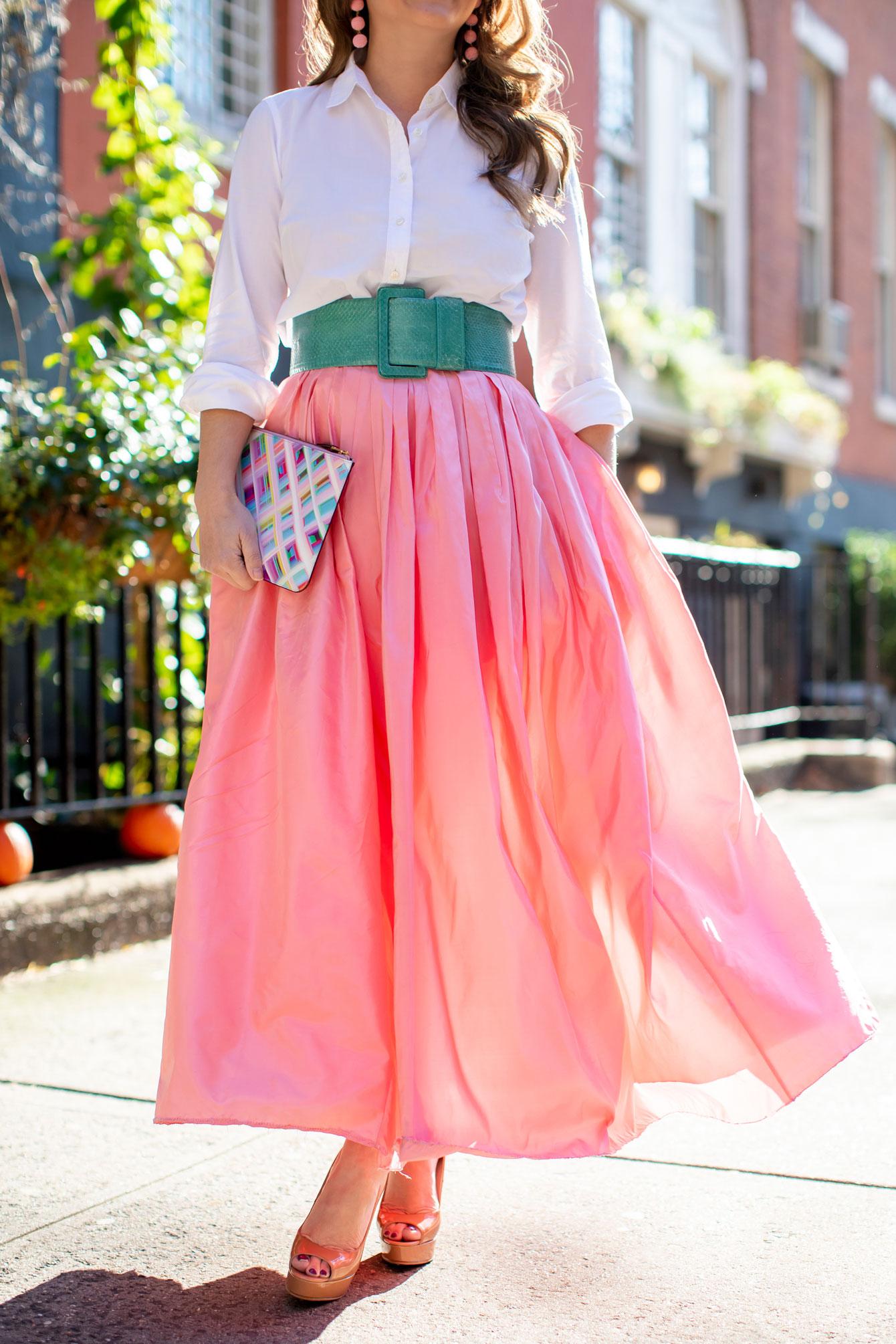 Carolina Herrera Fall 2018 Ball Skirt