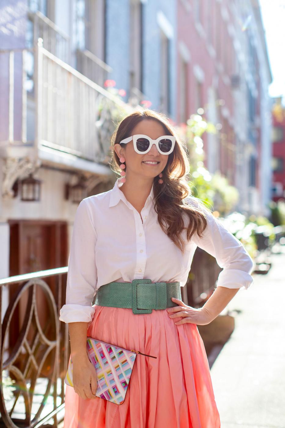 Carolina Herrera Fall 2018 Skirt