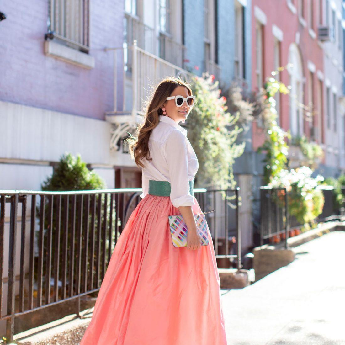 Carolina Herrera Pink Ball Skirt