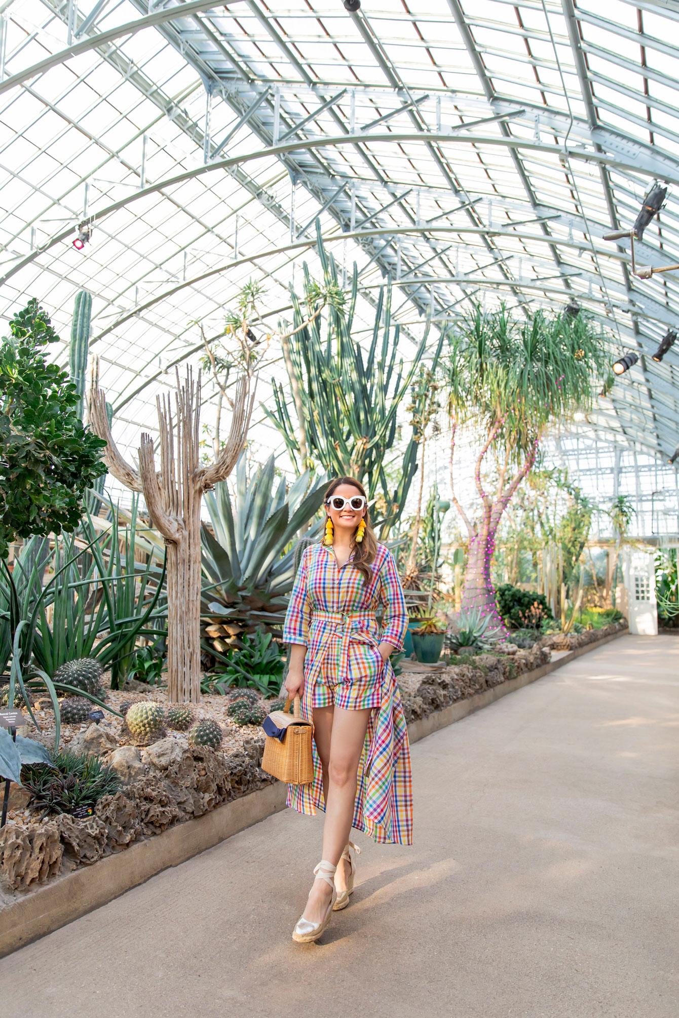 Garfield Park Conservatory Blogger Photoshoot
